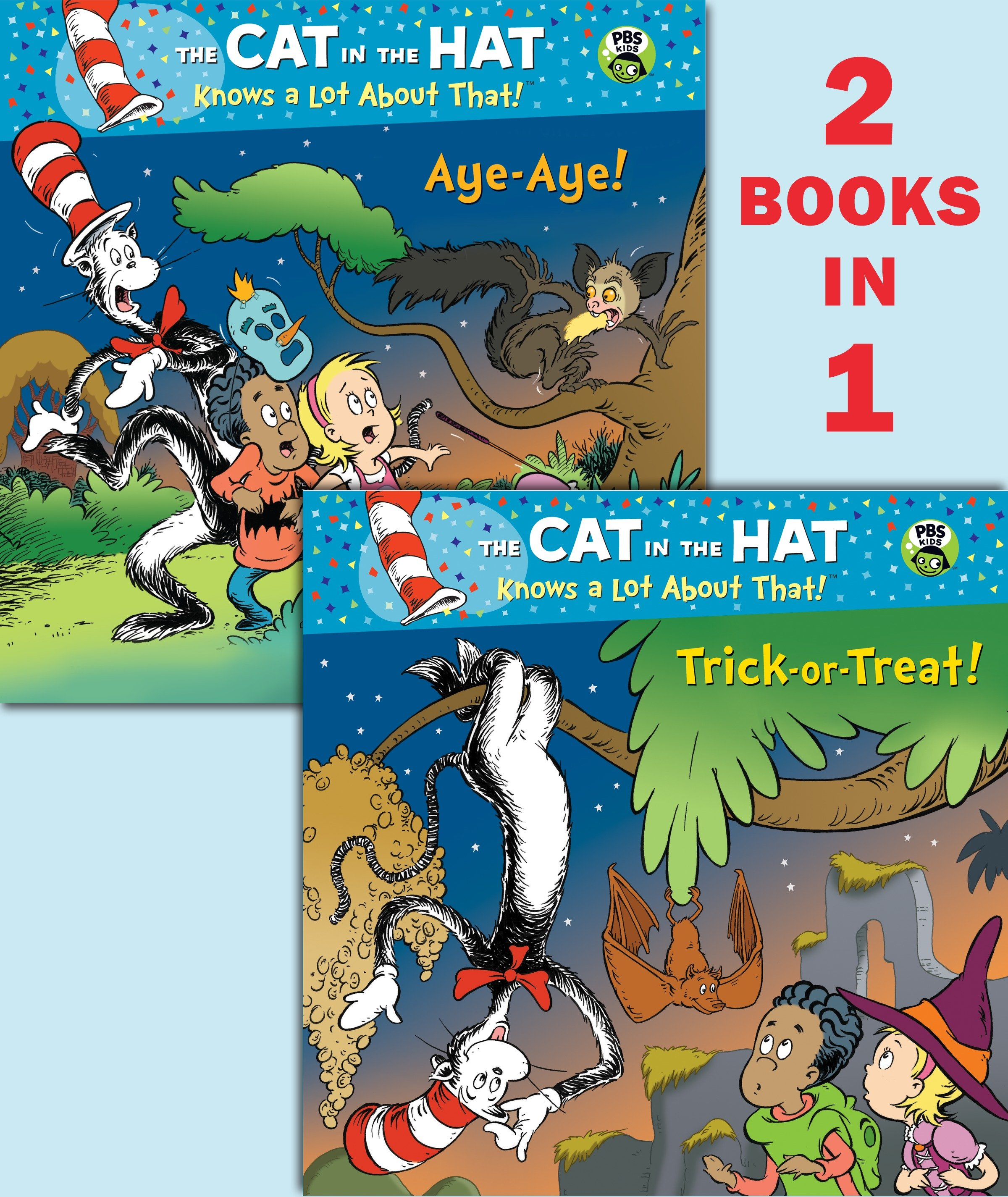 Trick-or-Treat!/Aye-Aye! (Dr. Seuss/Cat in the Hat) cover image