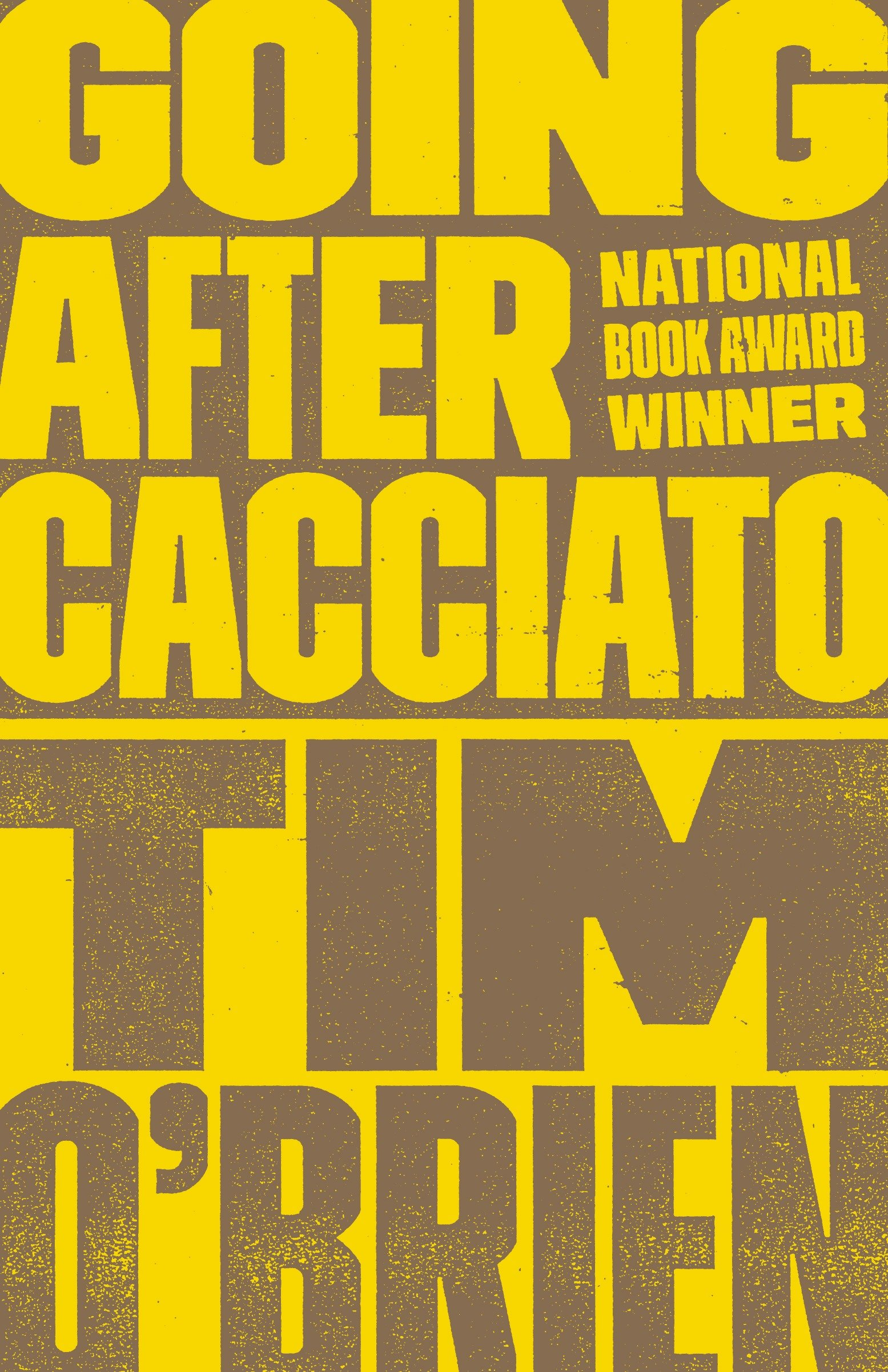 Going after cacciato cover image