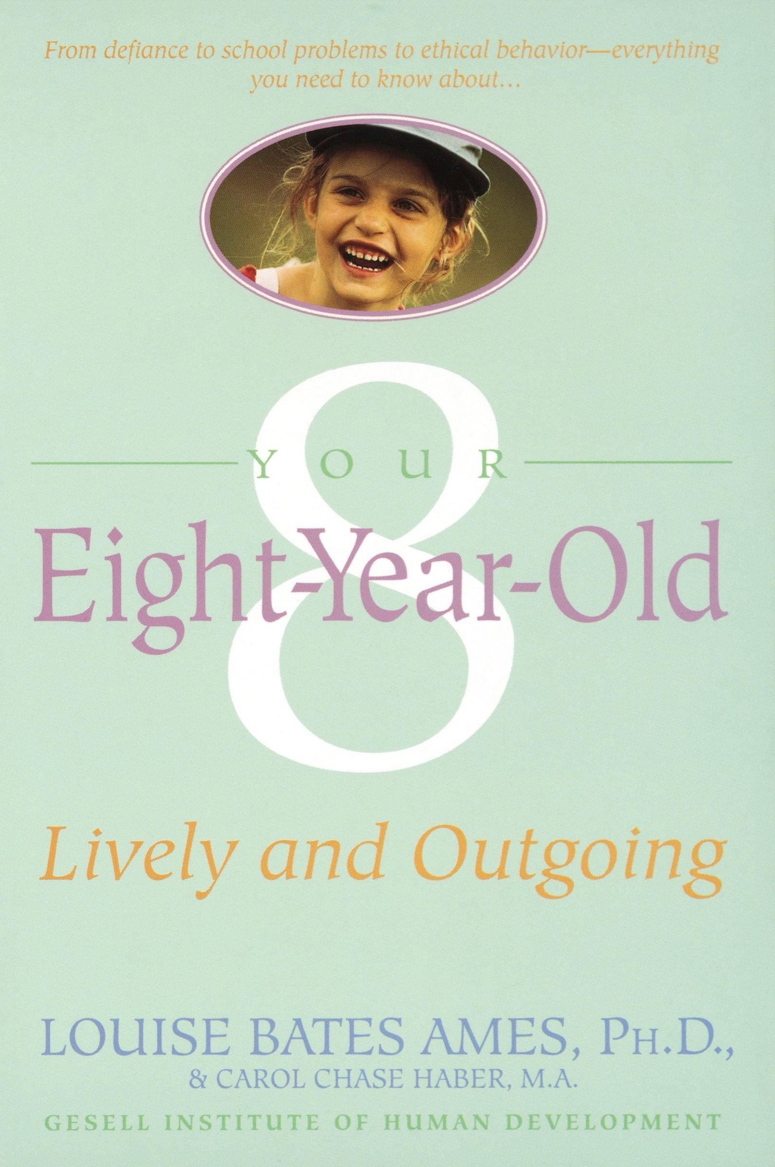 Your eight year old lively and outgoing cover image