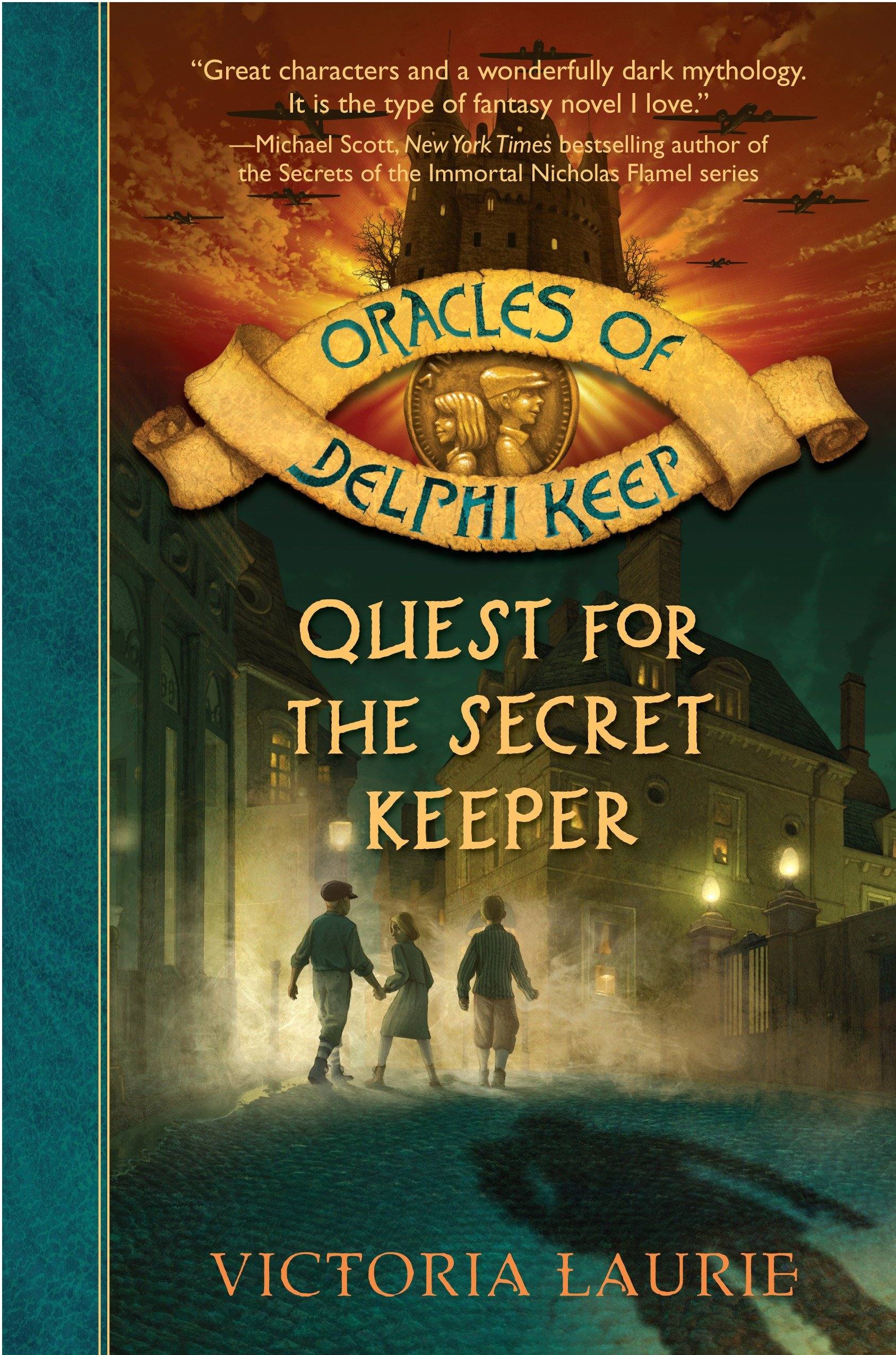 Quest for the secret keeper cover image