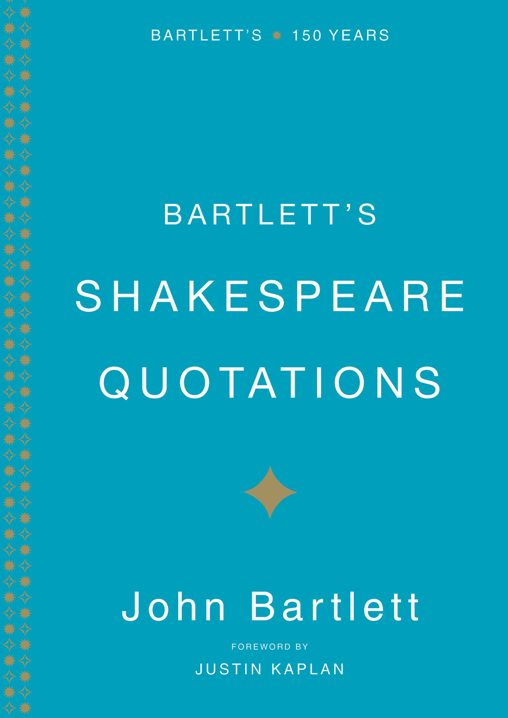 Bartlett's Shakespeare Quotations