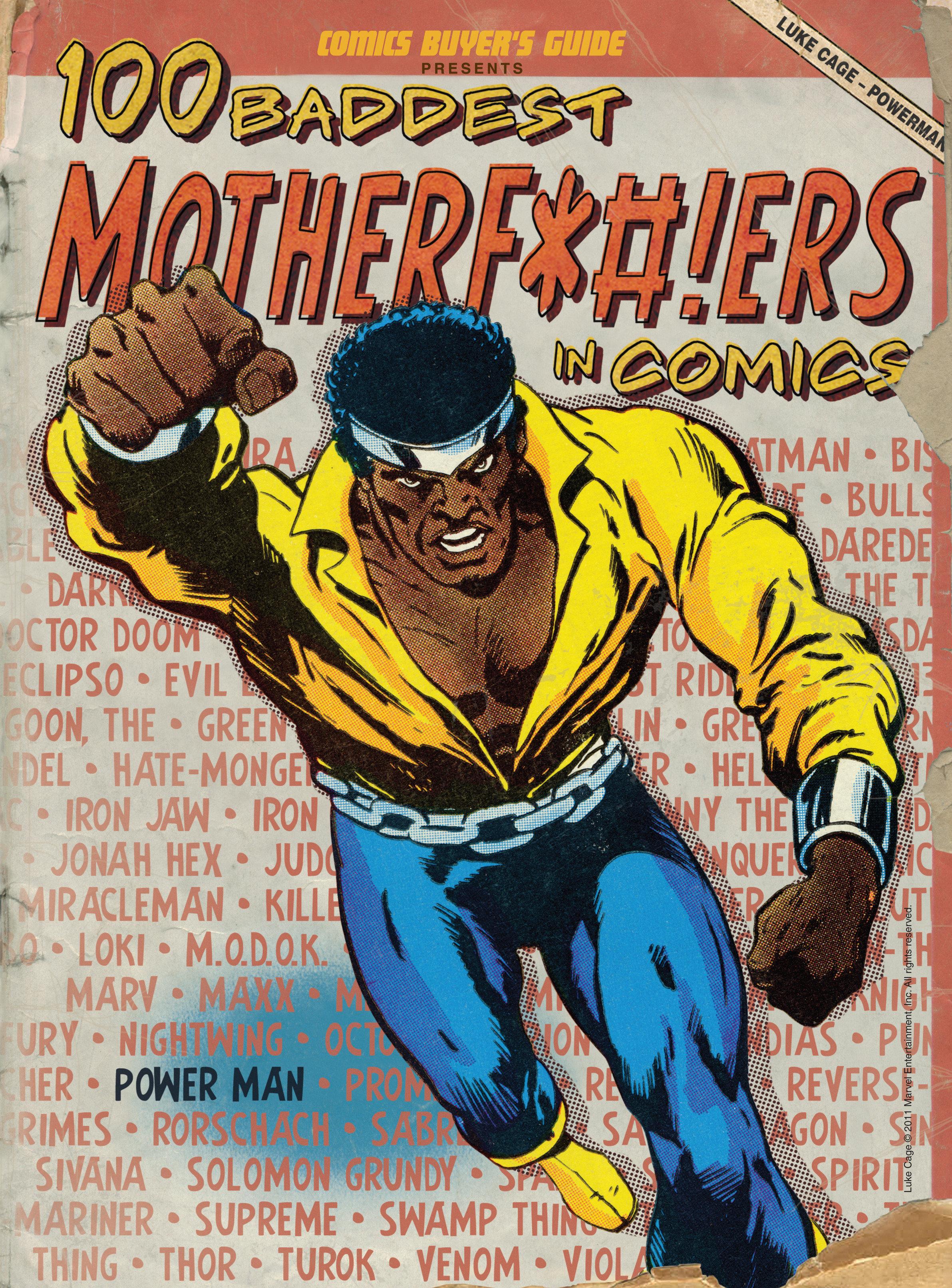 100 Baddest Mother F*ckers in Comics