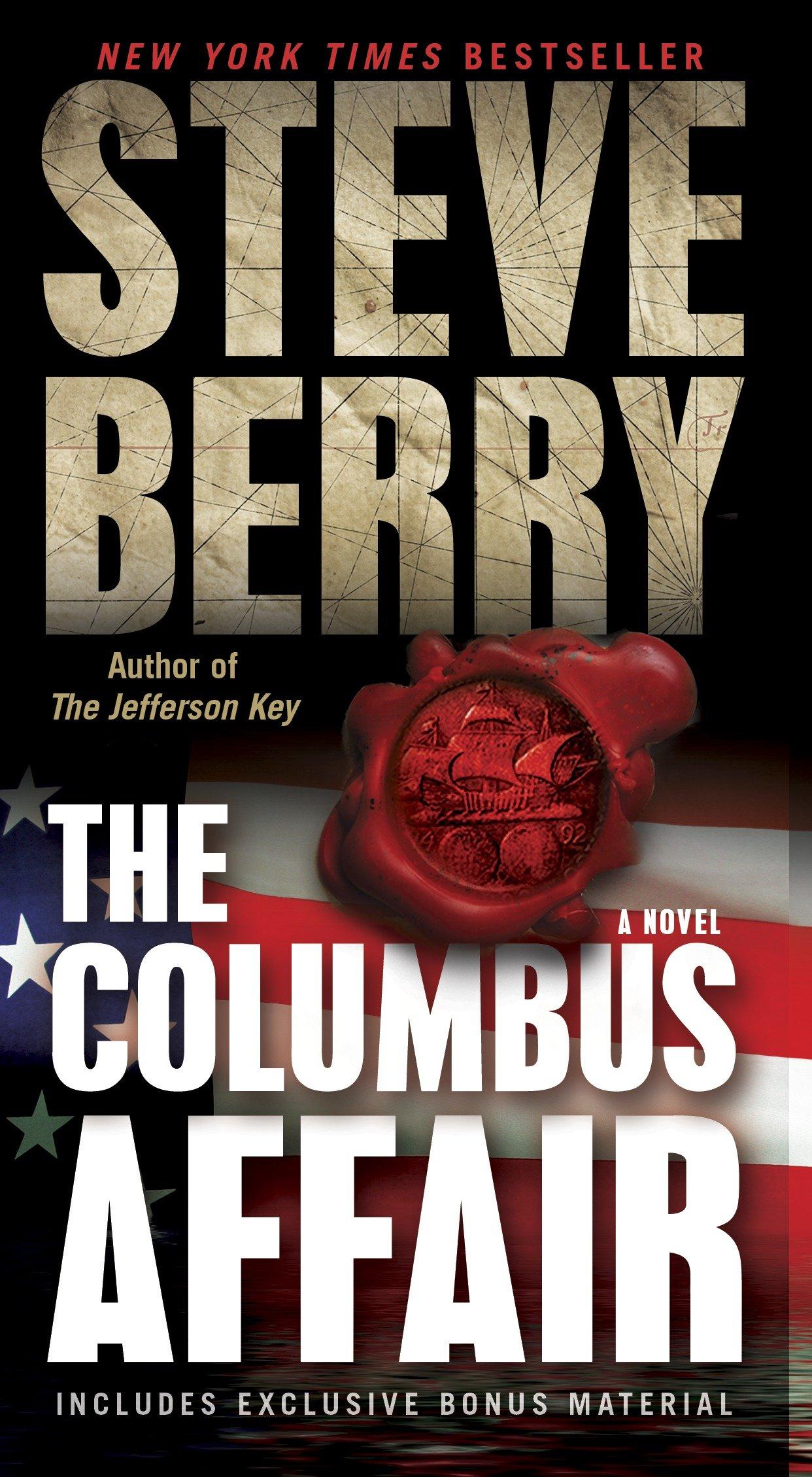 The Columbus affair: a novel (with bonus short story the Admiral's Mark) cover image