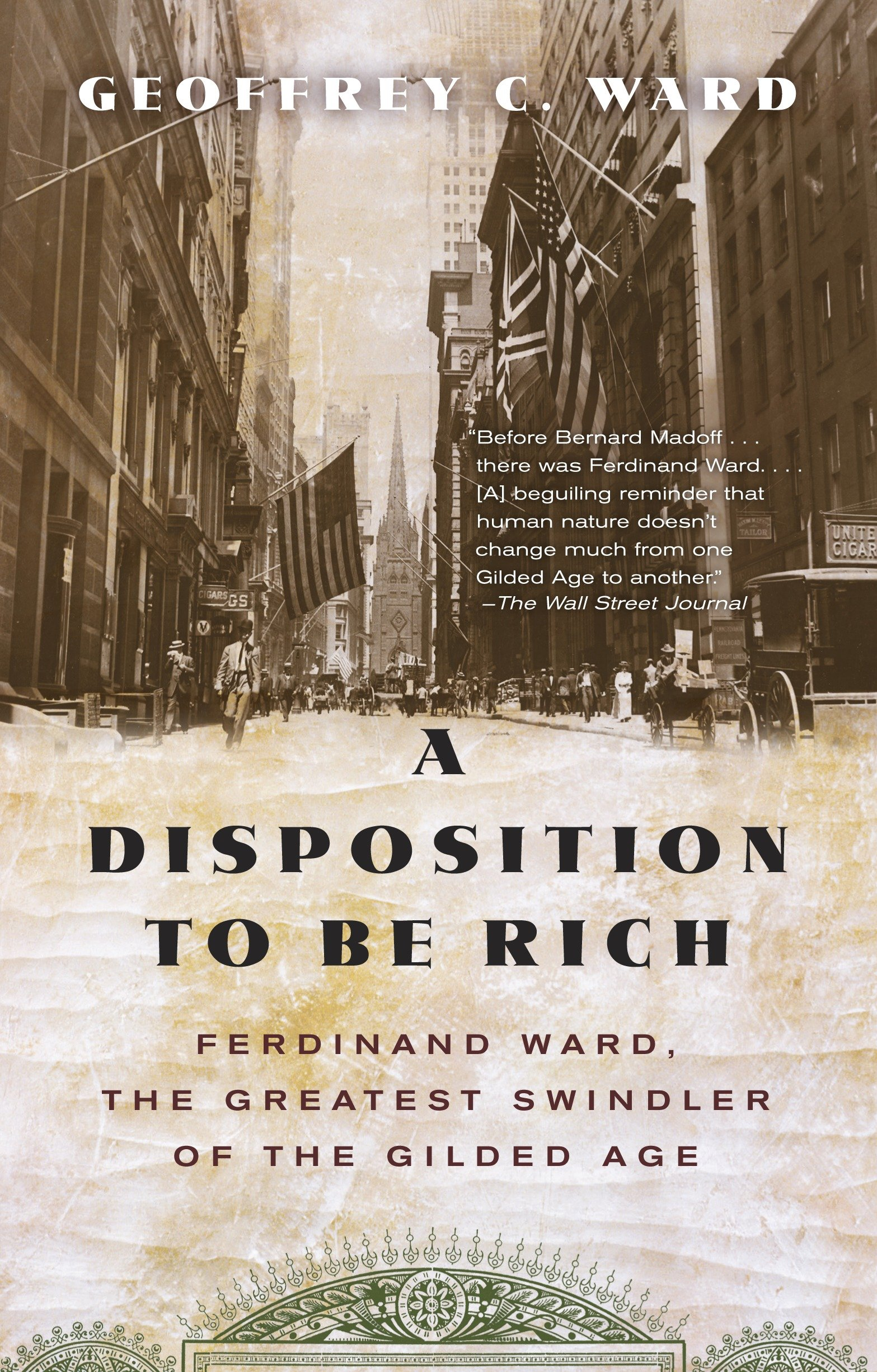 A disposition to be rich how a small-town pastor's son ruined an American president, brought on a Wall Street crash, and made himself the best-hated man in the United States