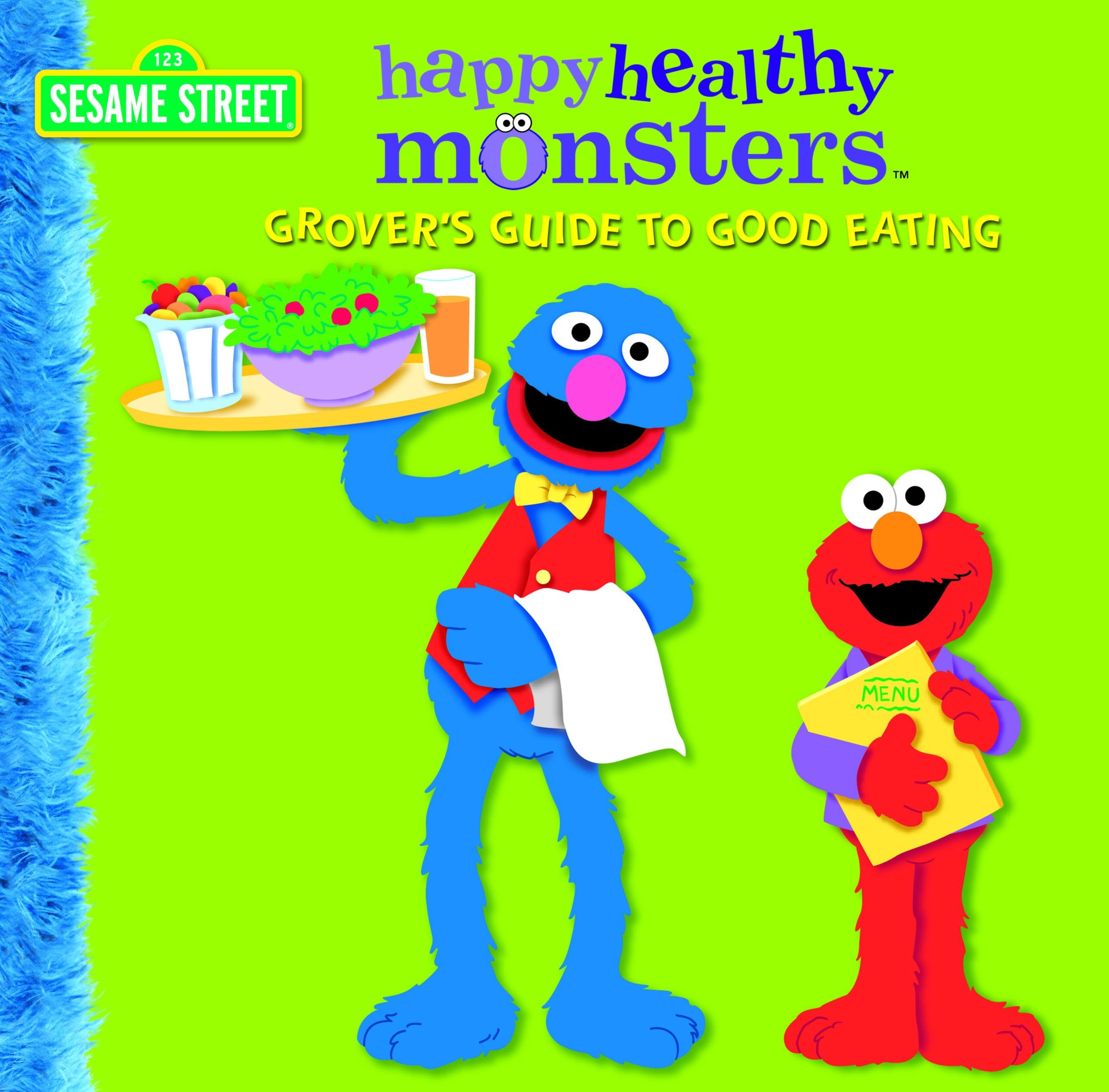 Grover's guide to good eating cover image