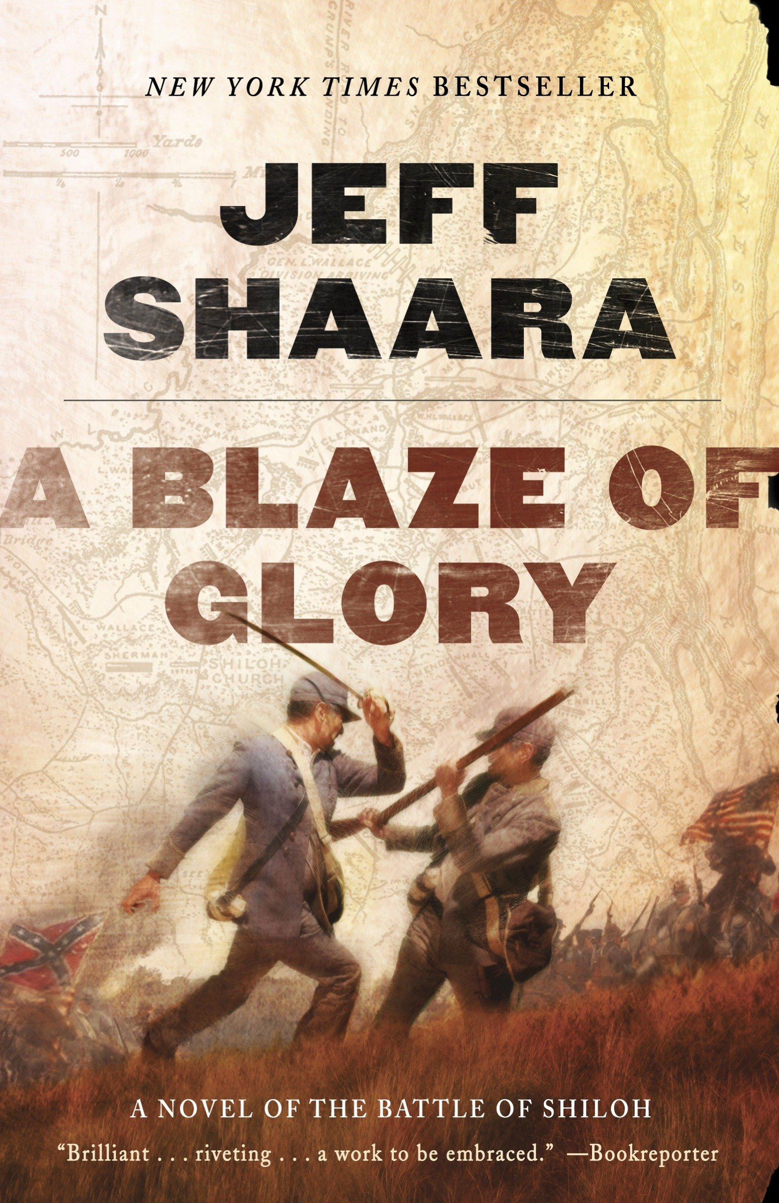 A blaze of glory a novel of the Battle of Shiloh cover image