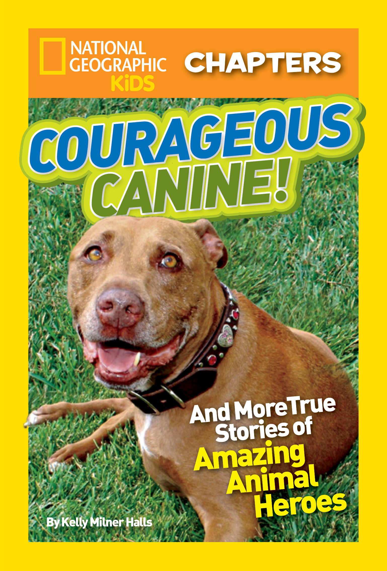 National Geographic kids chapters: courageous canine and more true stories of amazing animal heroes cover image