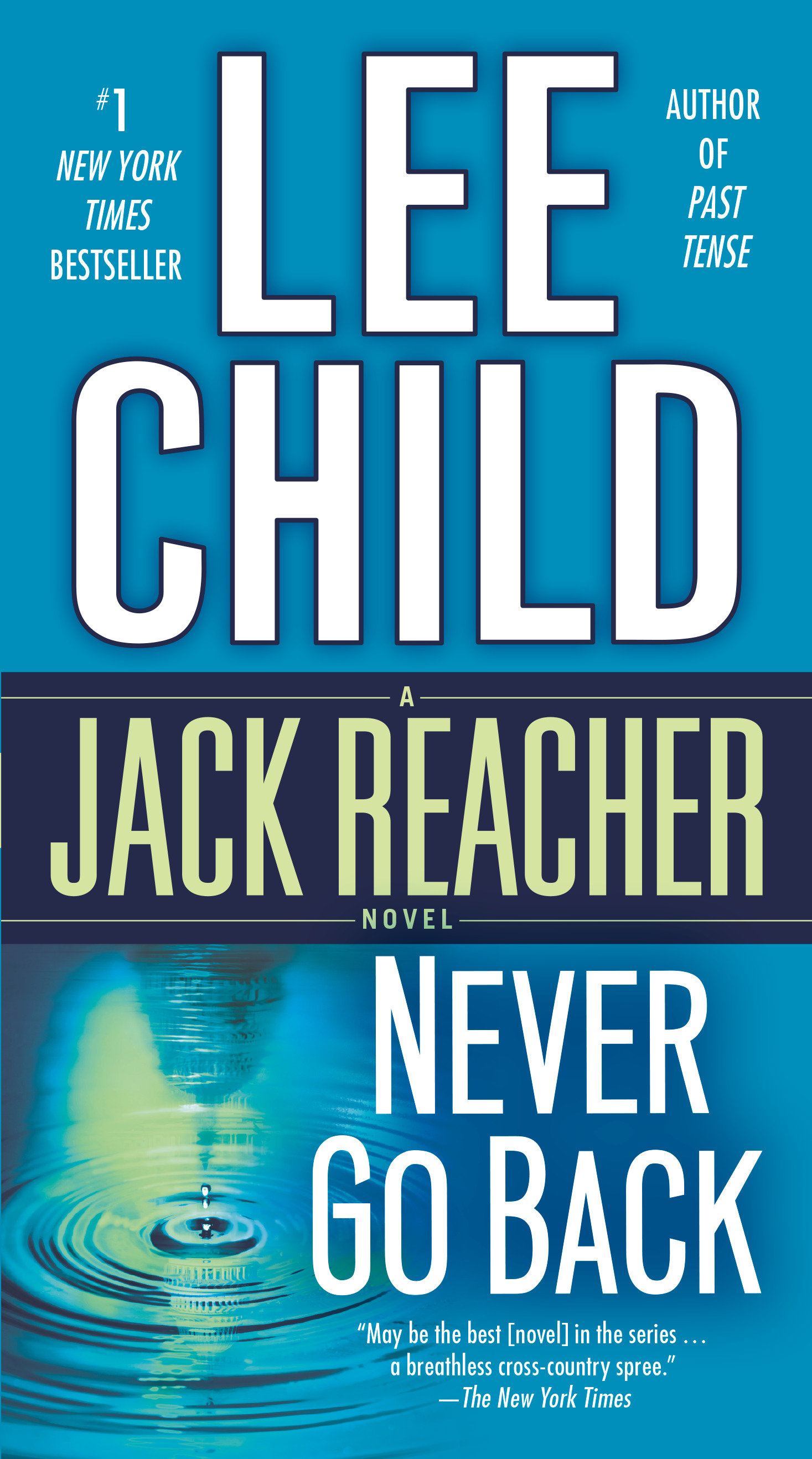 Never go back a Jack Reacher novel