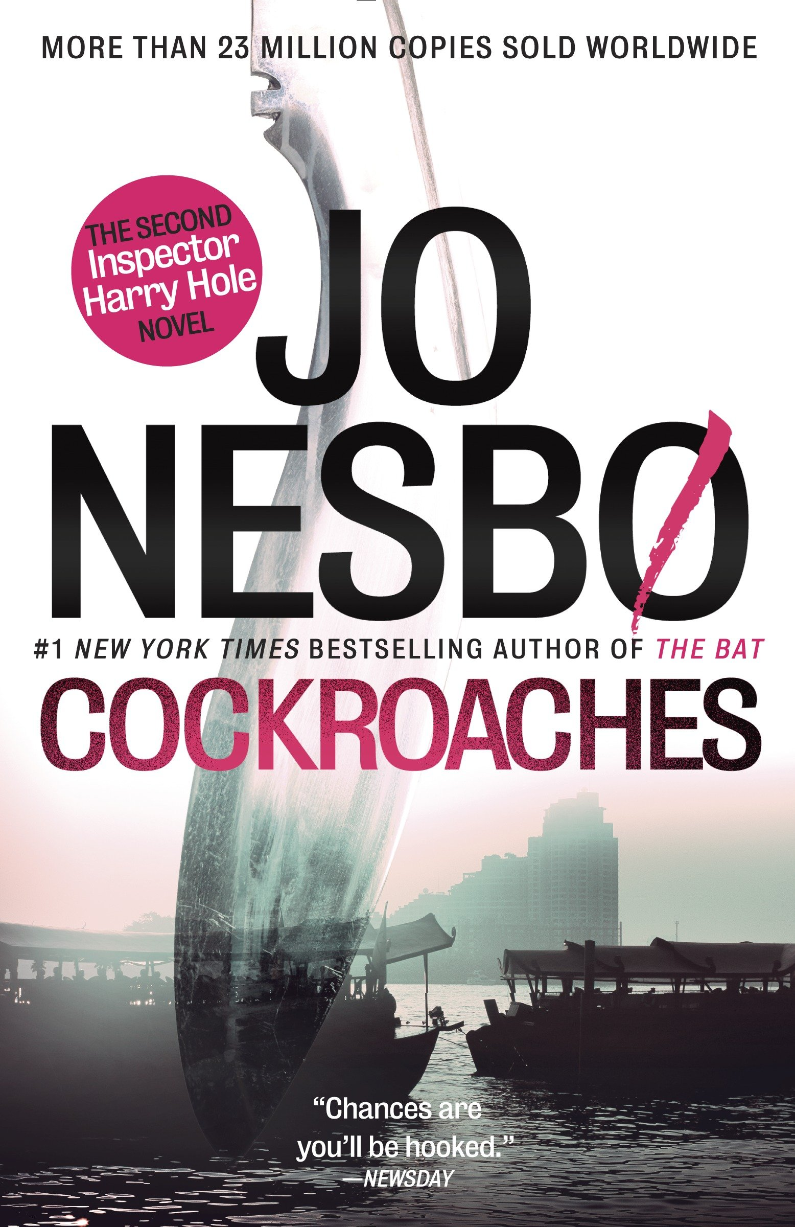 Cockroaches the second Inspector Harry Hole novel cover image