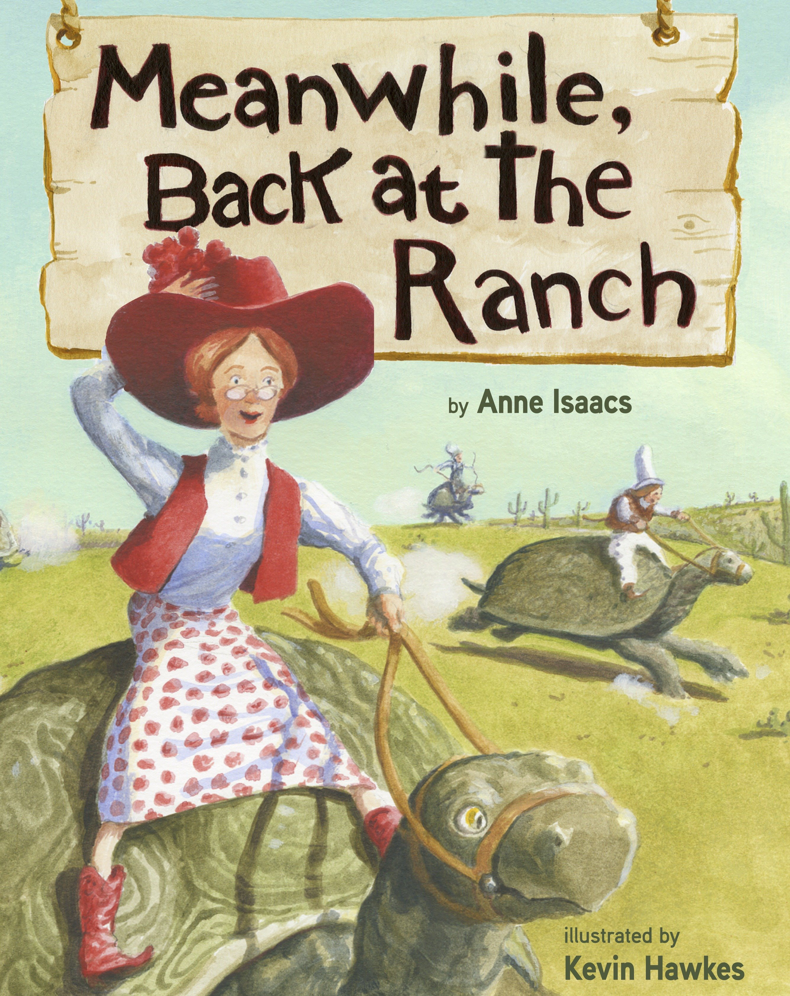 Meanwhile, back at the ranch cover image