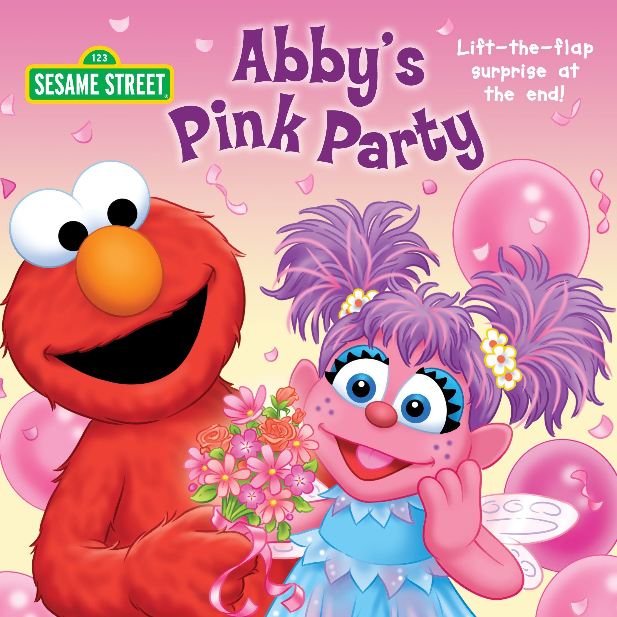 Abby's pink party cover image