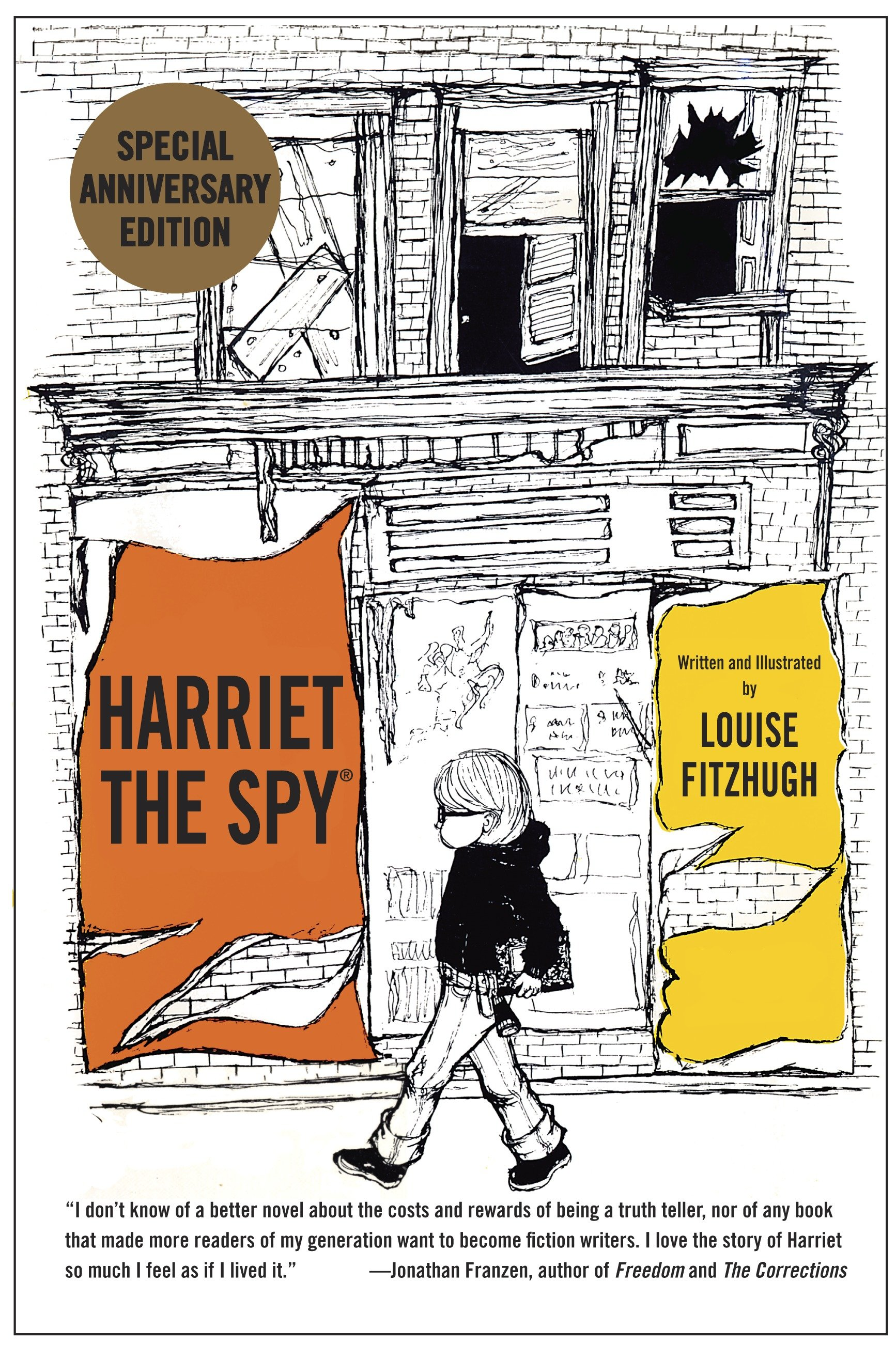 Harriet the spy: 50th anniversary edition cover image
