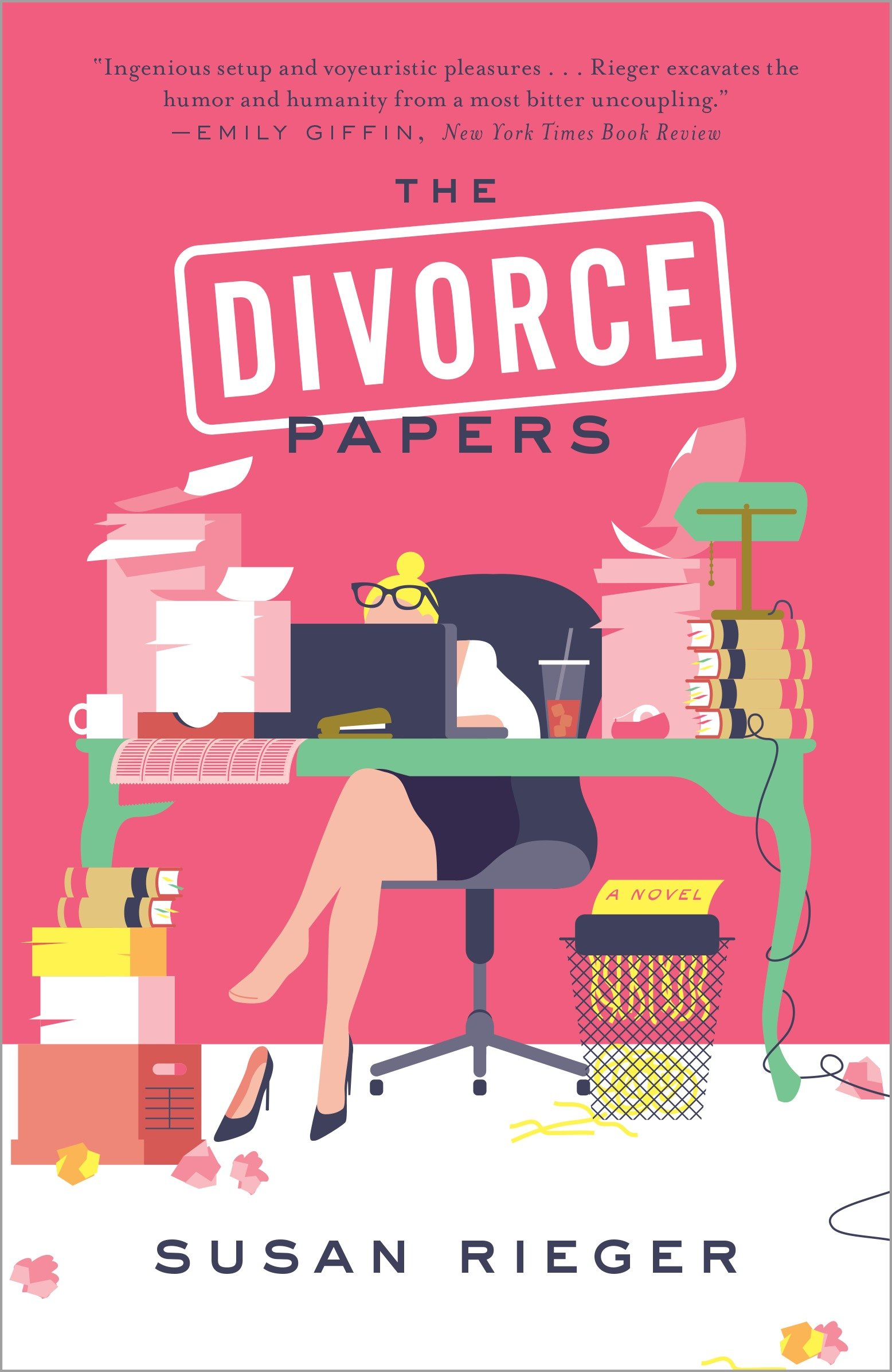 The divorce papers cover image