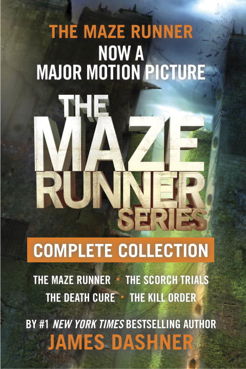 The maze runner series complete collection cover image