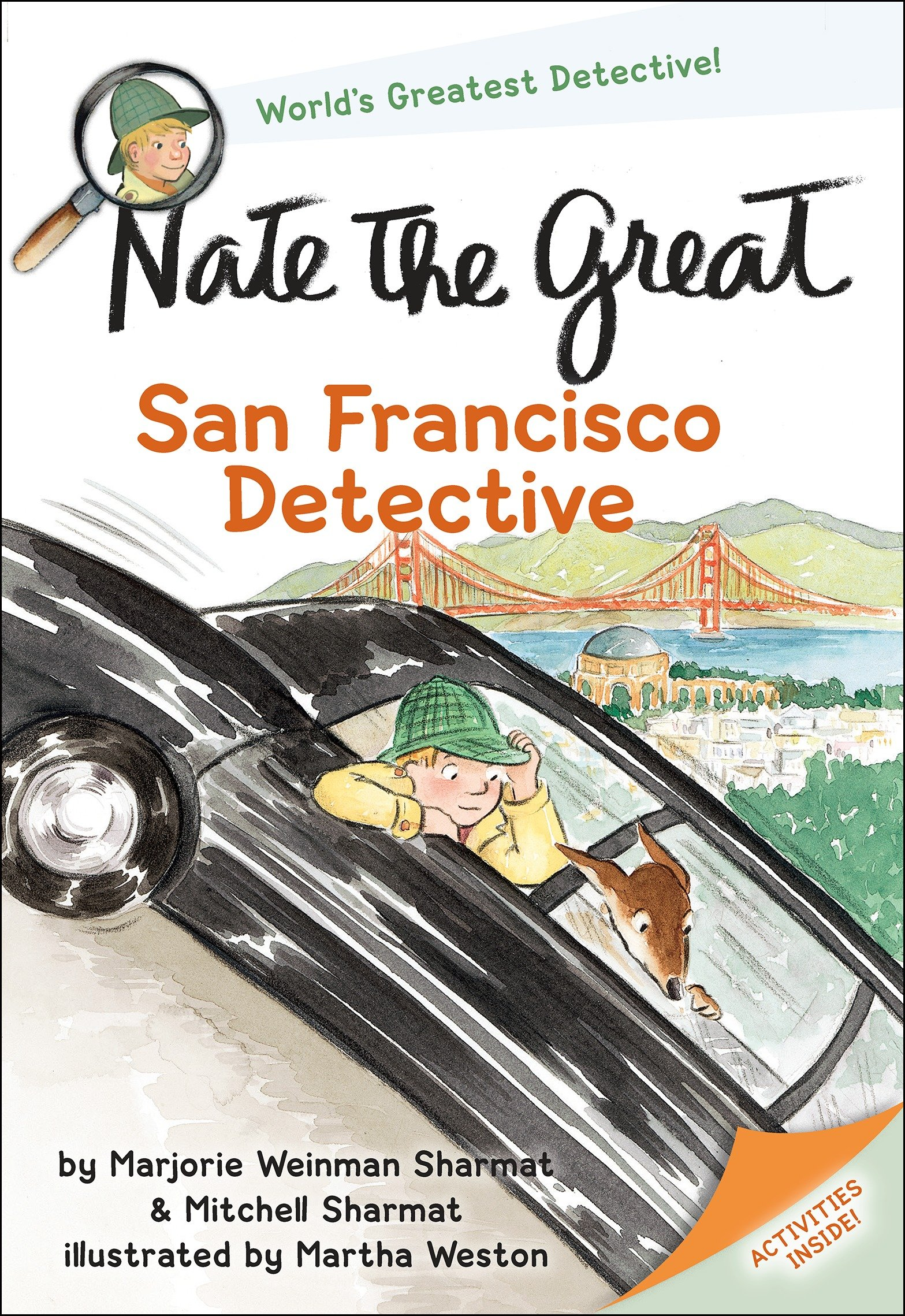 Nate the Great, San Francisco detective cover image