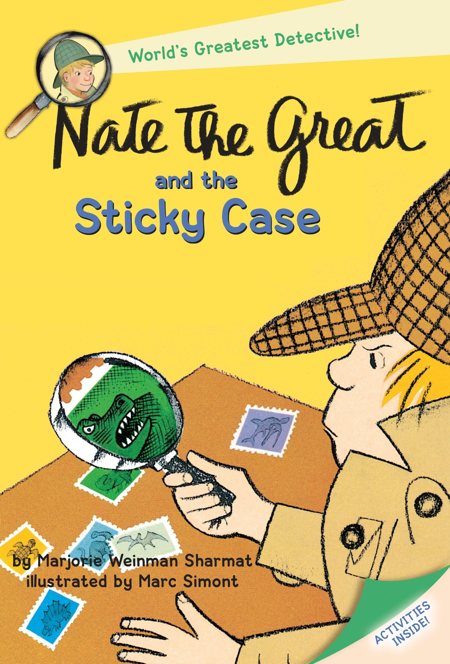 Nate the great and the sticky case cover image