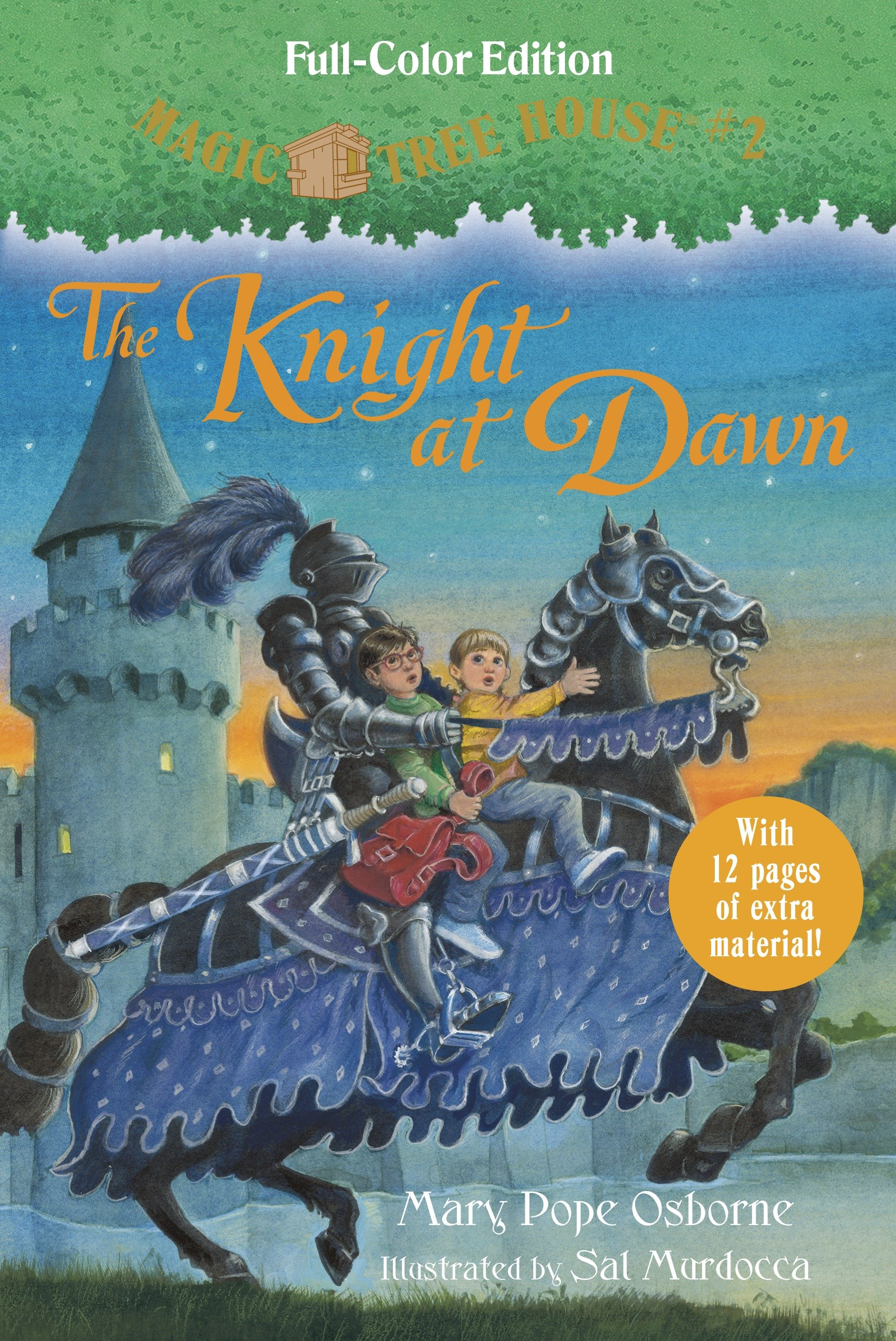 The knight at dawn cover image