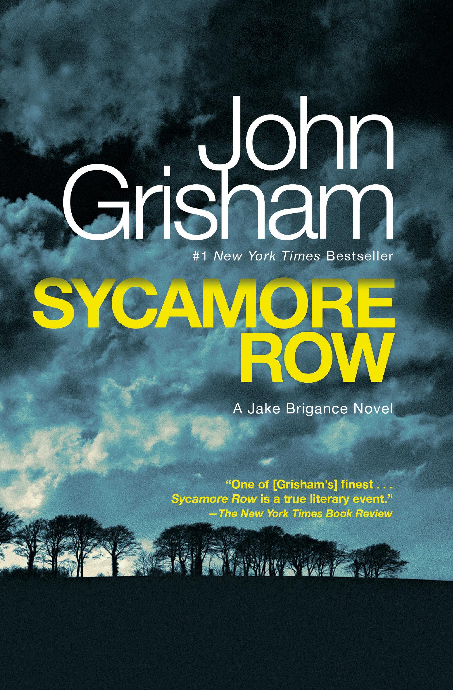 Sycamore Row A Novel