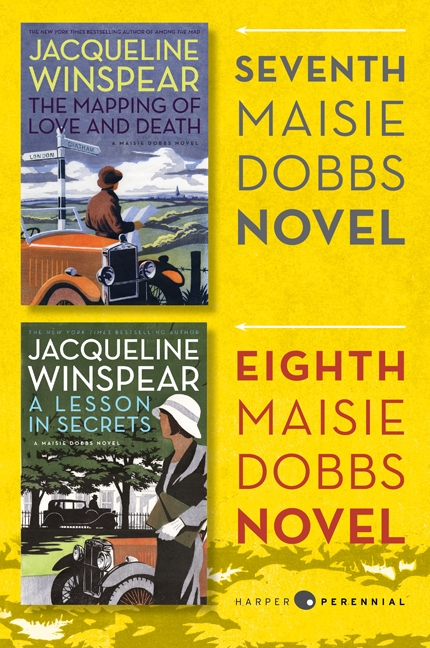 Maisie dobbs bundle #3: the mapping of love and death and a lesson in secrets : Books 7 and 8 in the New York Times Bestselling Series
