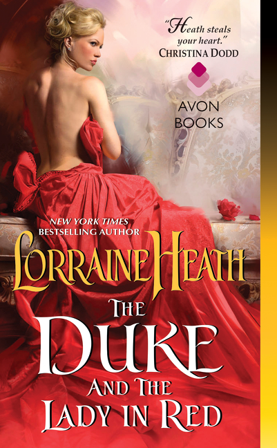 The duke and the lady in red cover image