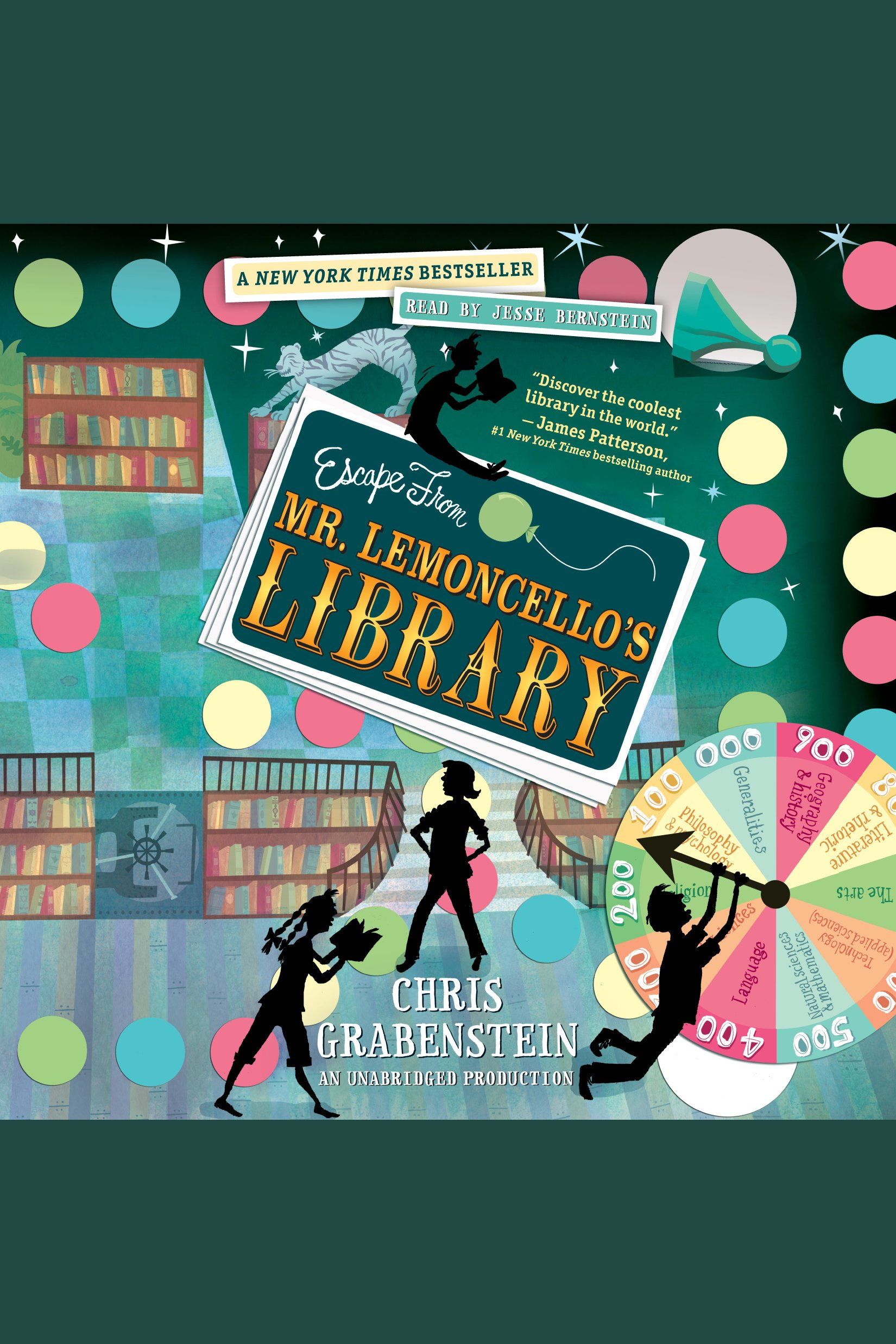 Escape from Mr. Lemoncello's library cover image