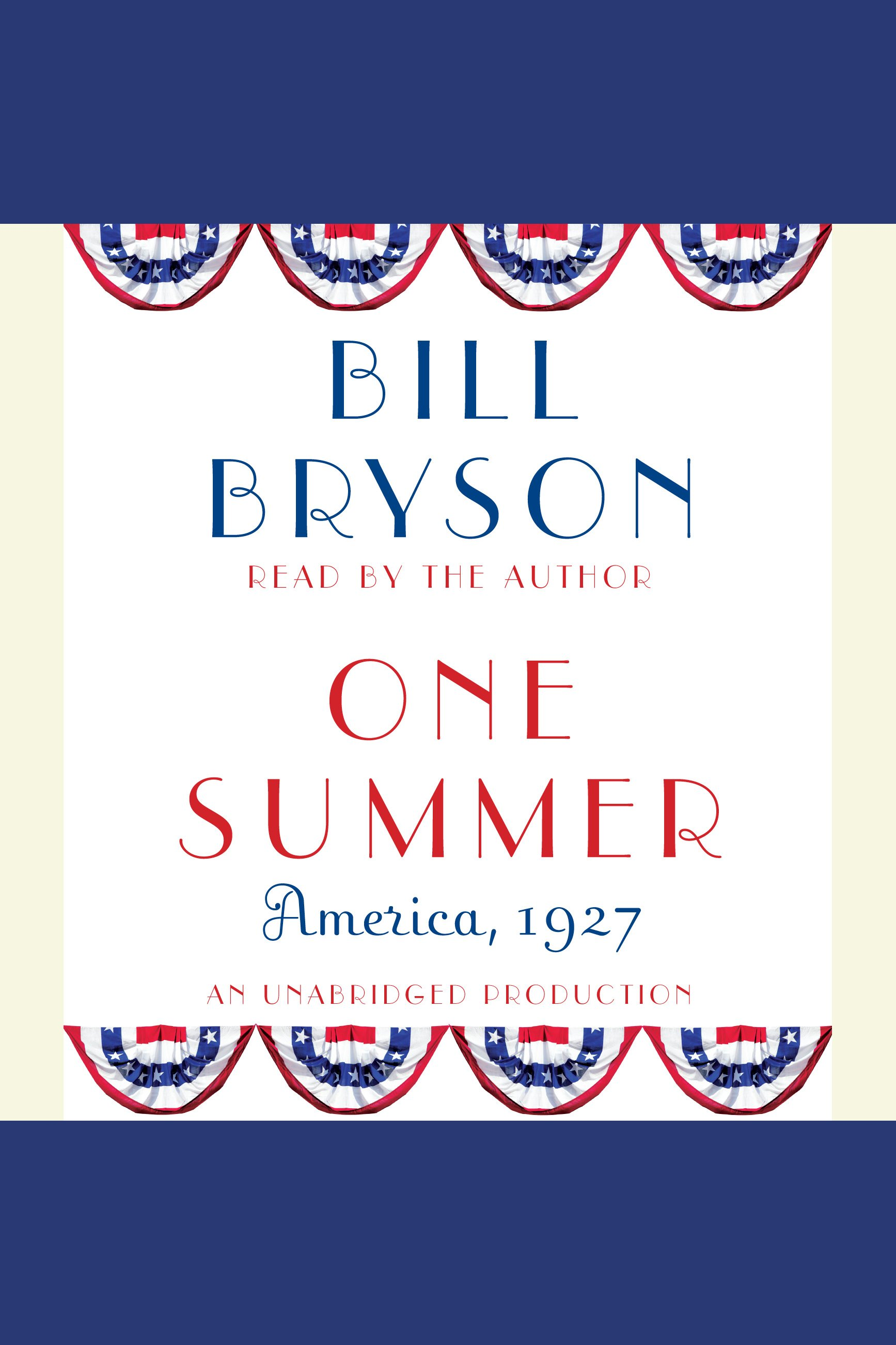 One summer America, 1927 cover image