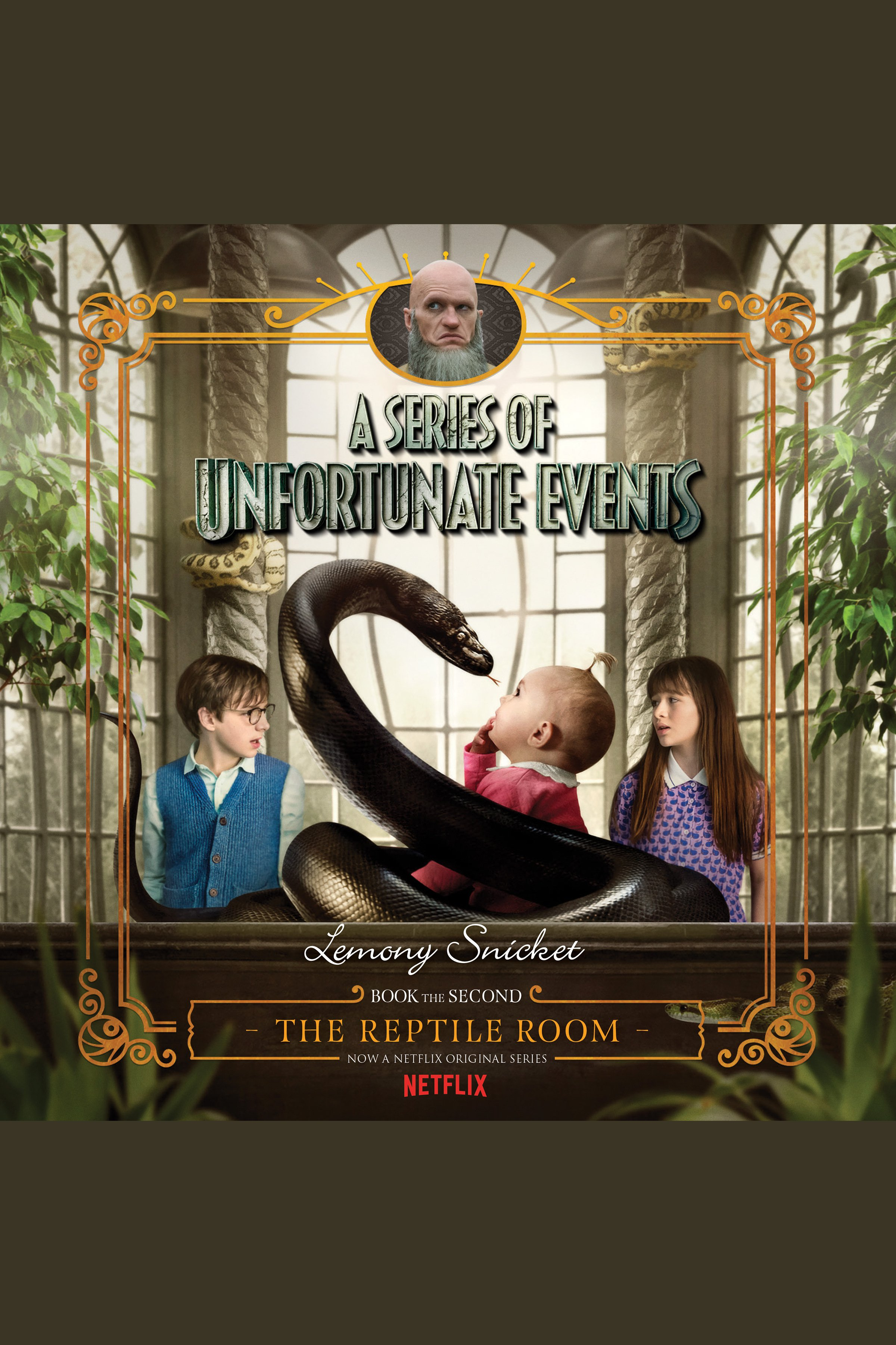 The reptile room cover image