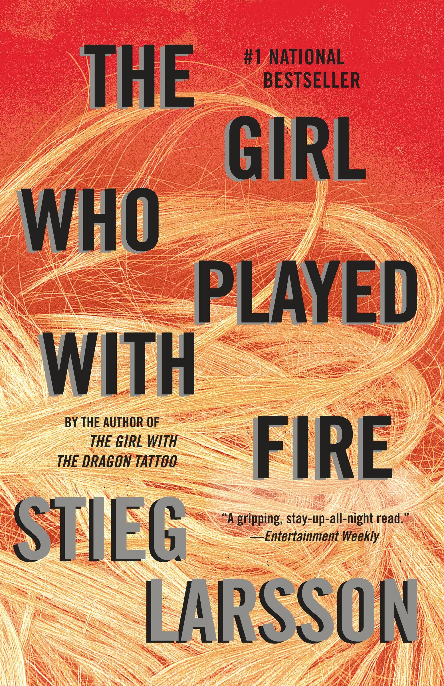 The girl who played with fire book 2 of the millennium trilogy cover image