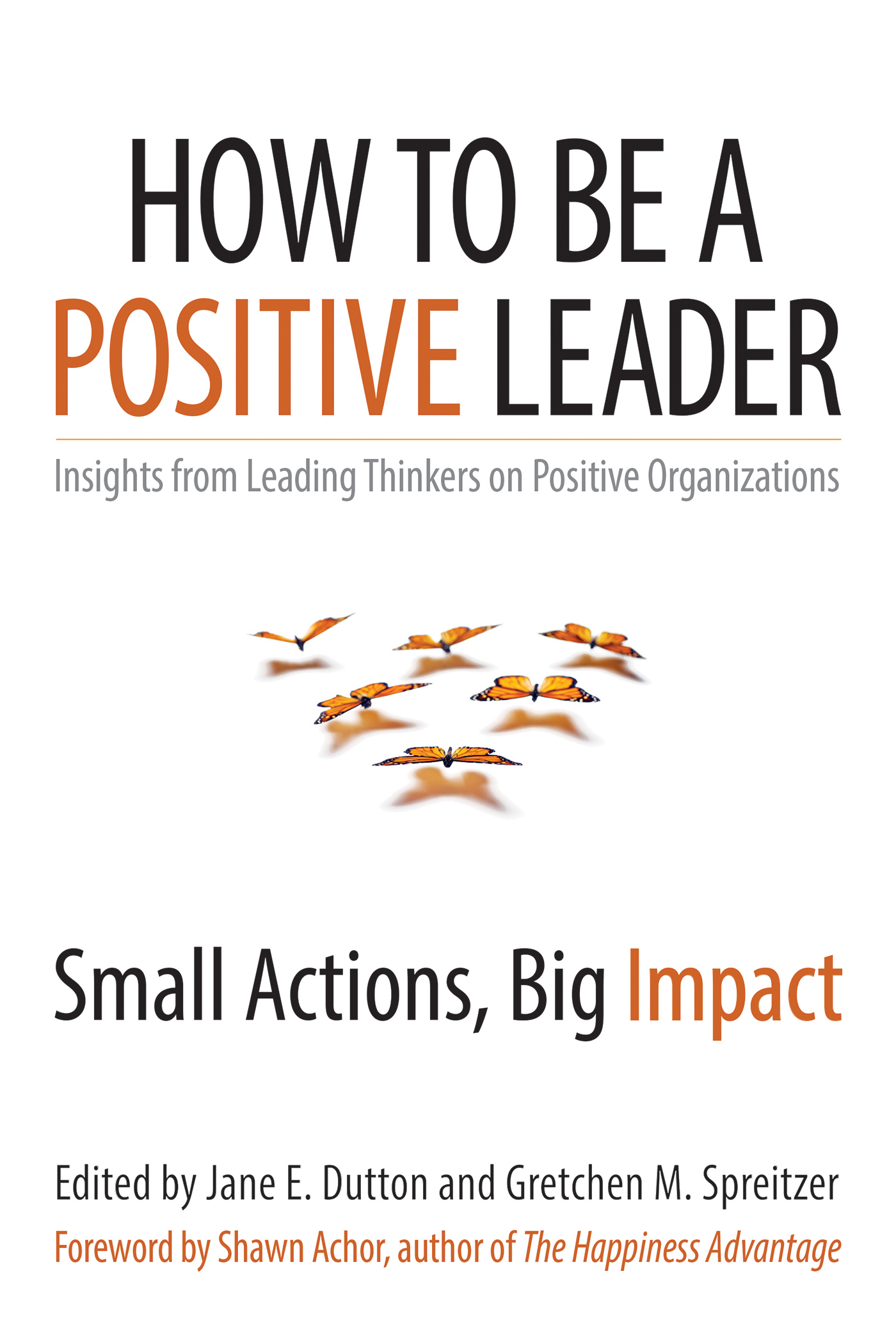 How to Be a Positive Leader Small Actions, Big Impact