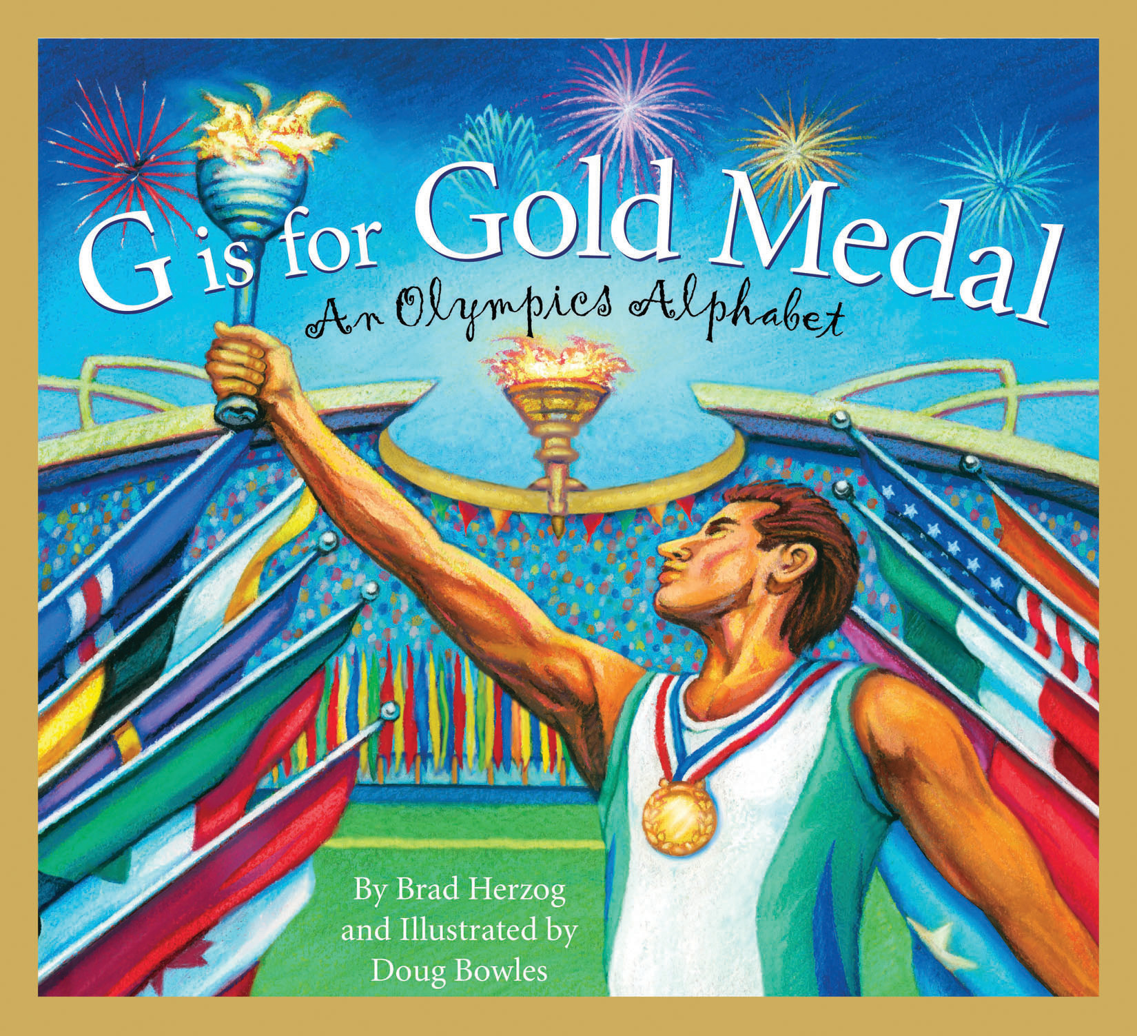 G is for Gold Medal An Olympics Alphabet