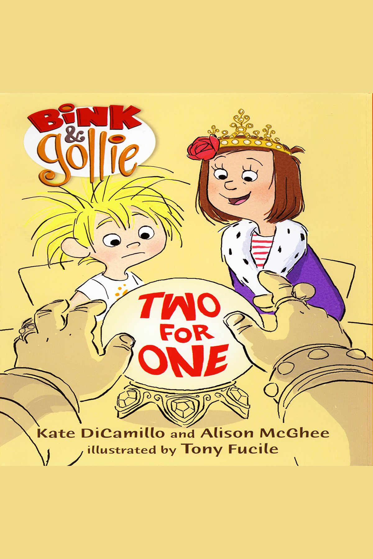 Bink & Gollie two for one cover image