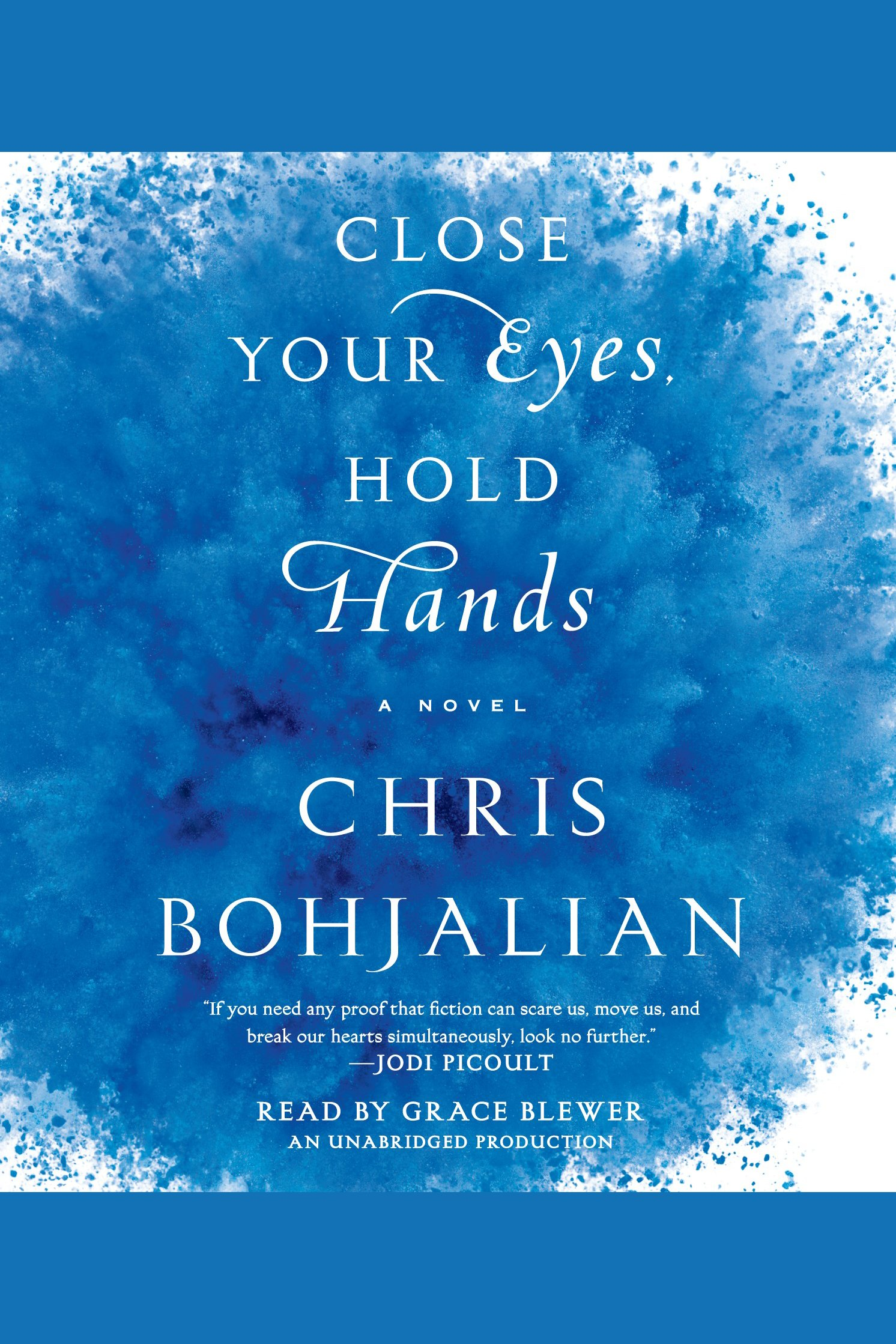Close your eyes, hold hands cover image