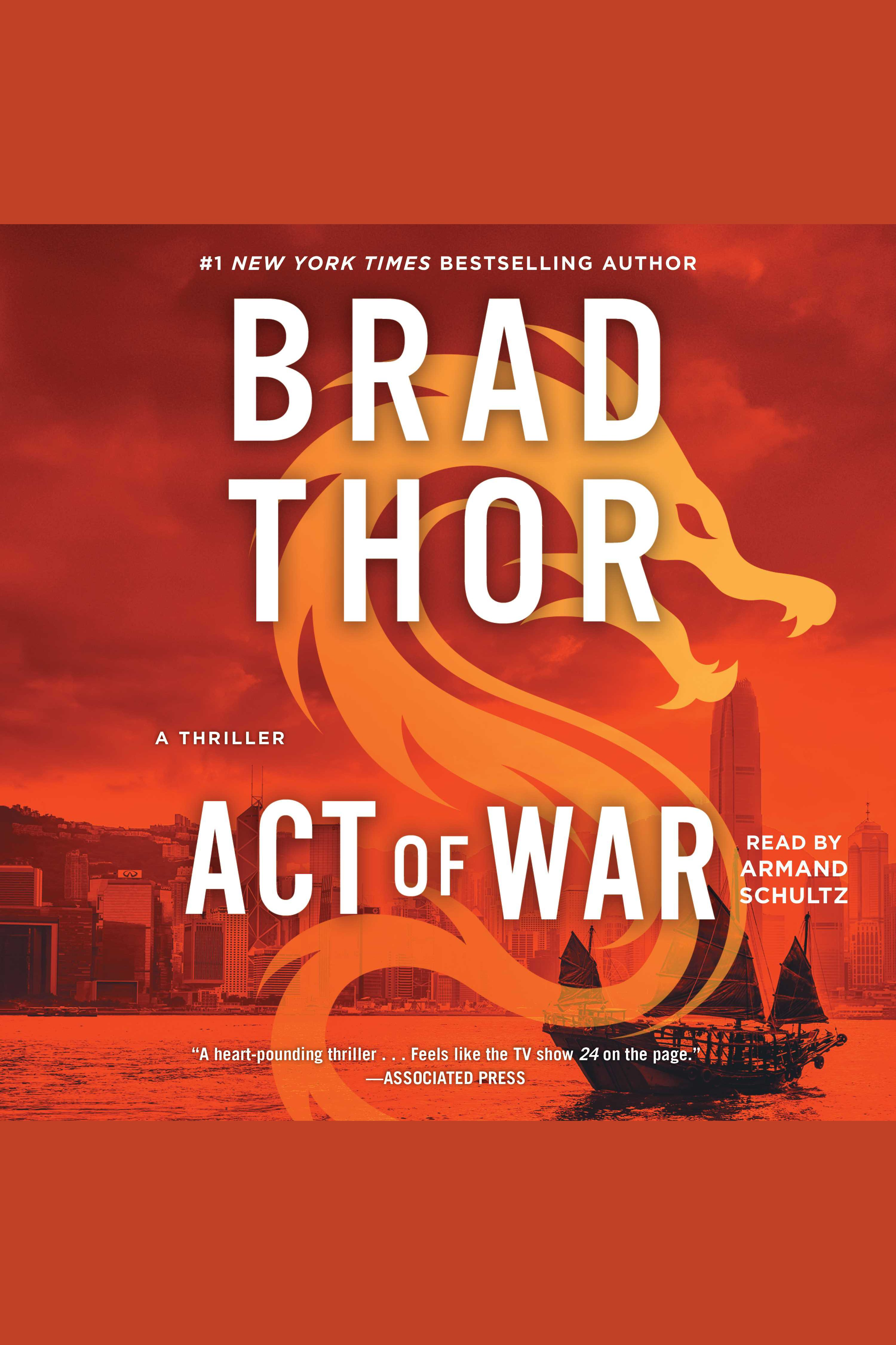 Act of war a thriller cover image