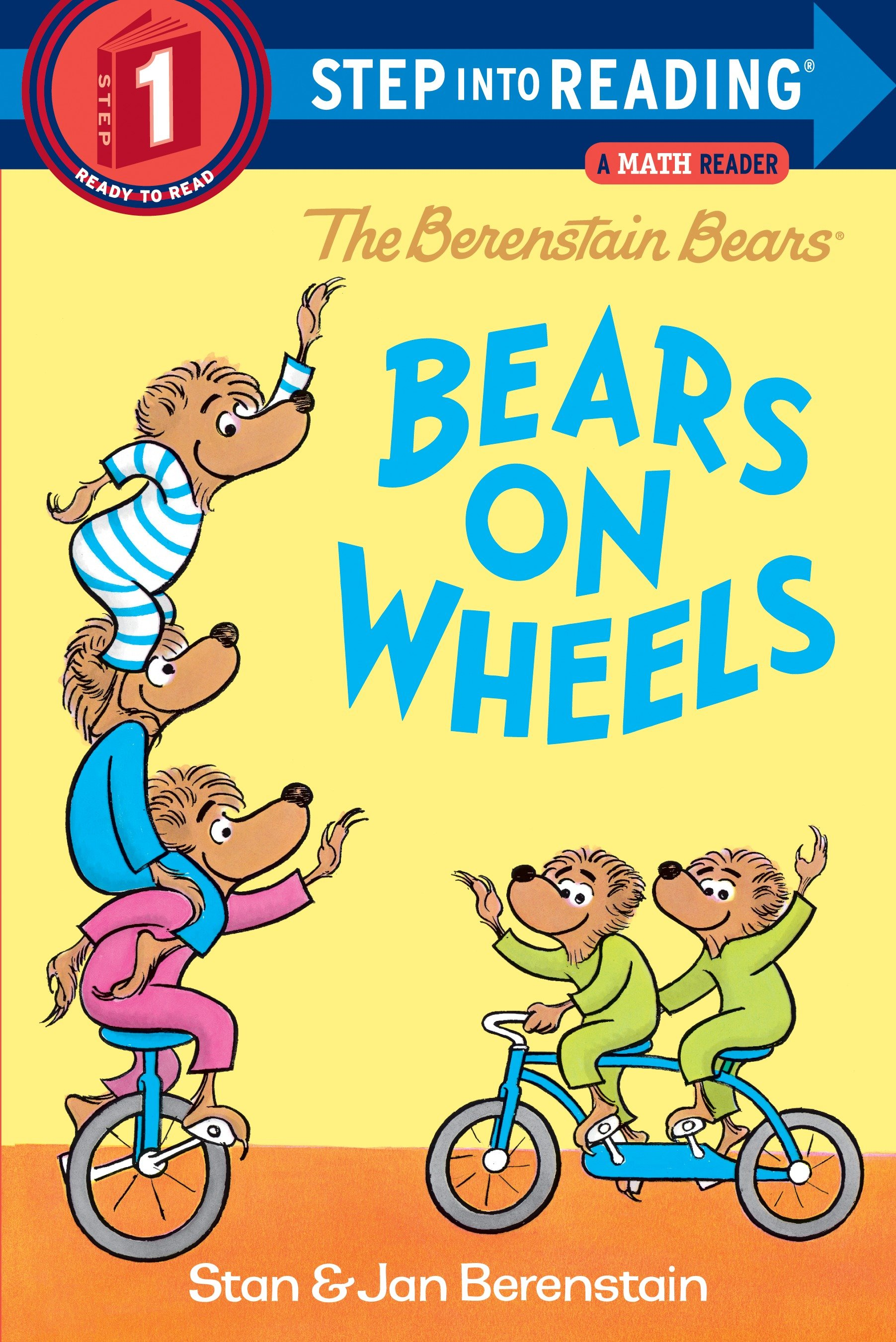 The Berenstain Bears bears on wheels cover image