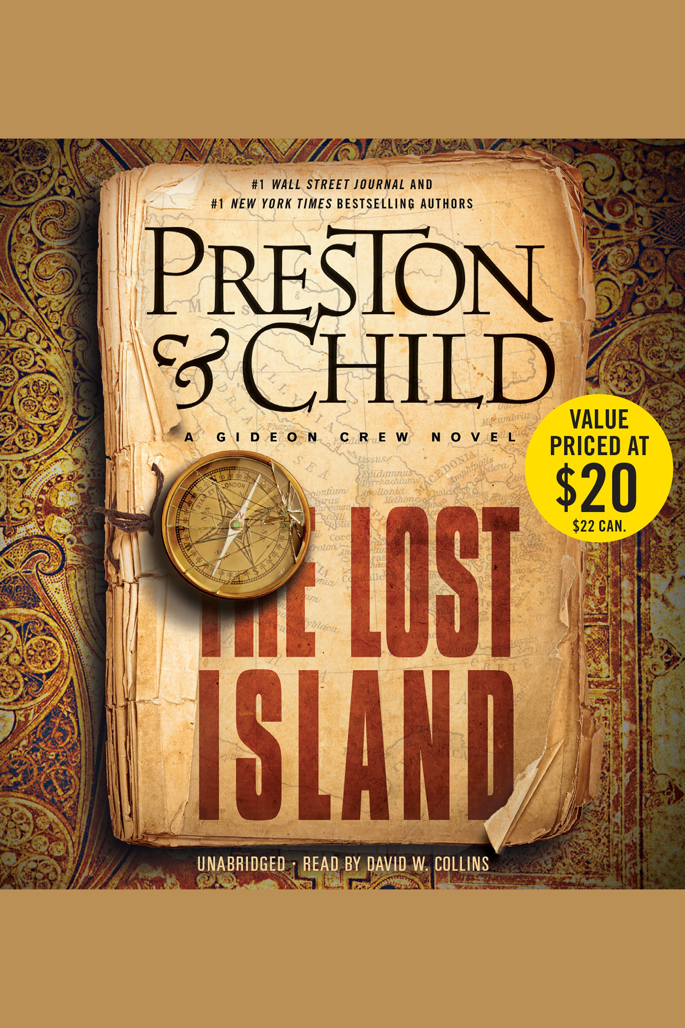 The lost island A Gideon Crew novel cover image