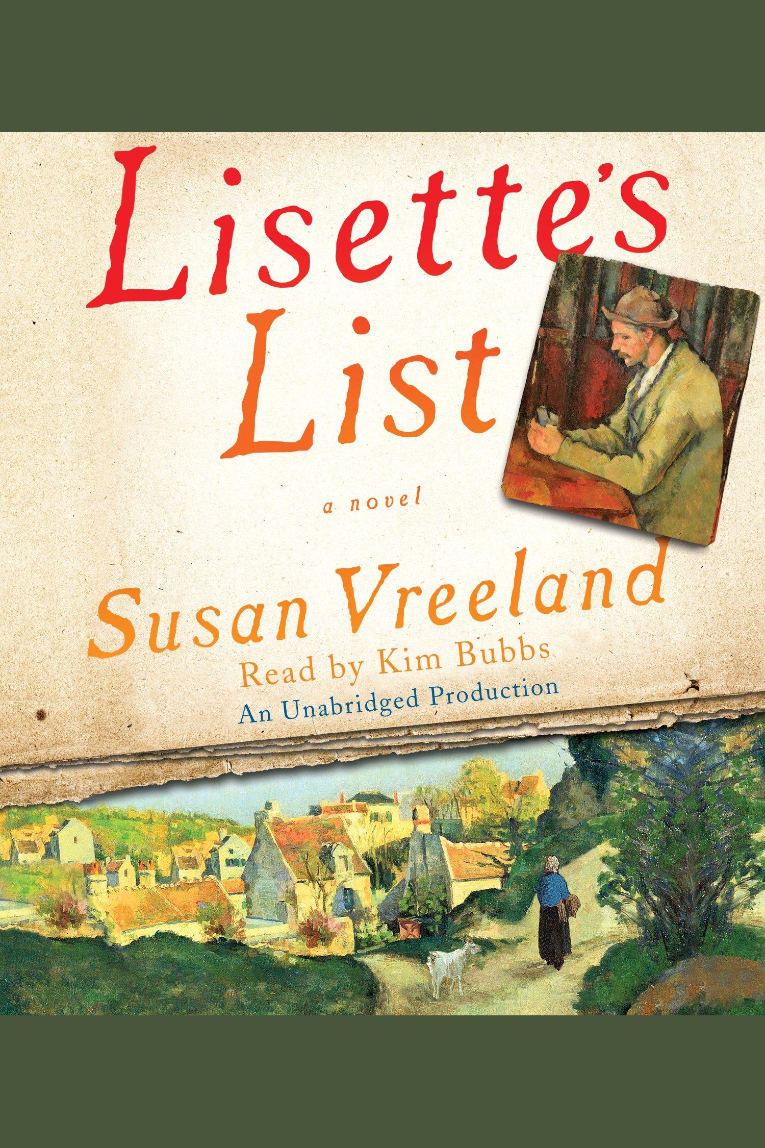 Lisette's list cover image