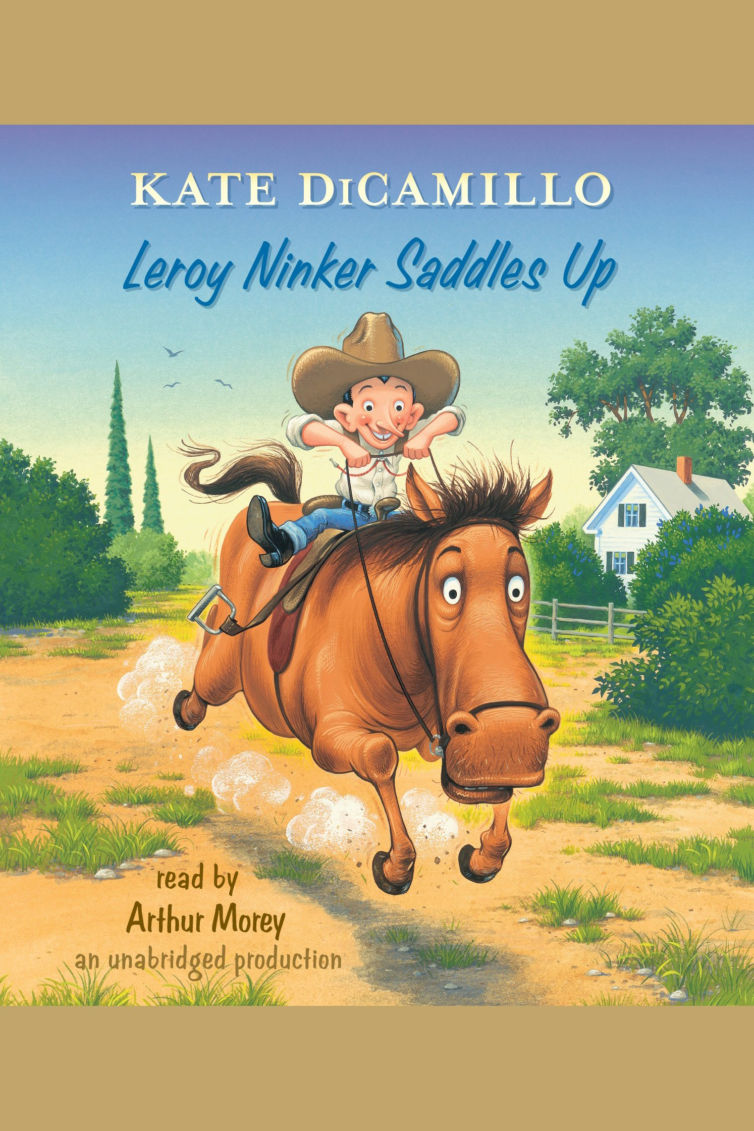 Leroy Ninker saddles up cover image