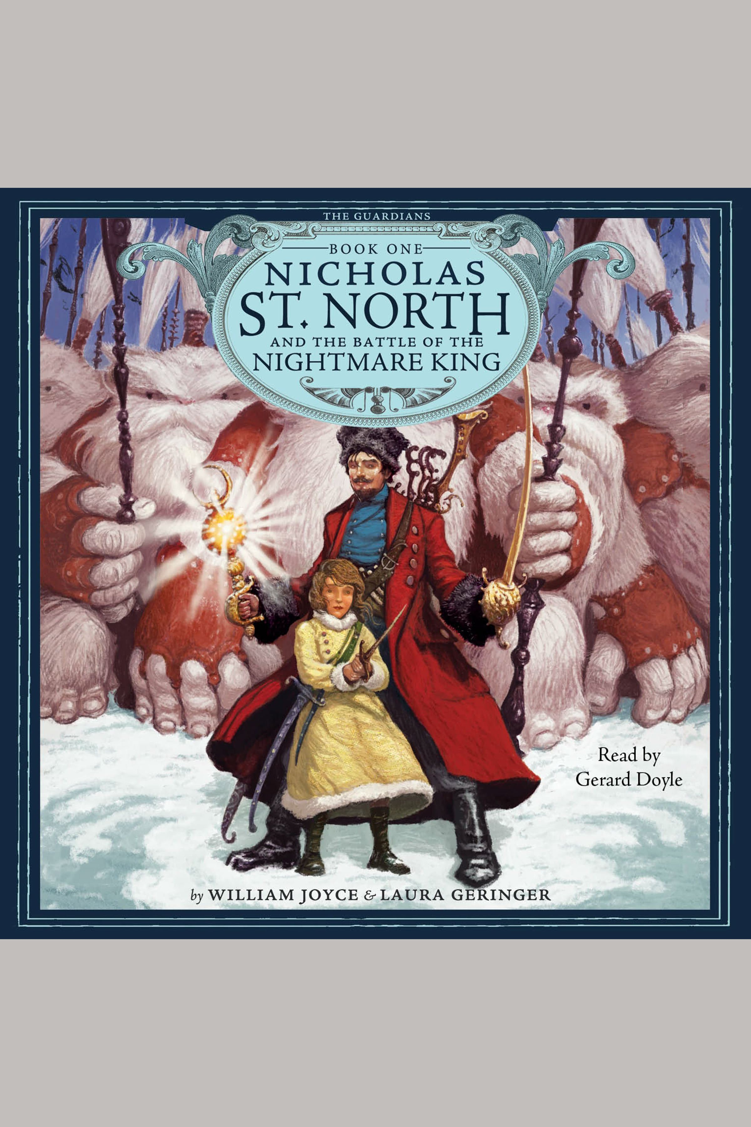 Nicholas St. North and the battle of the Nightmare King cover image