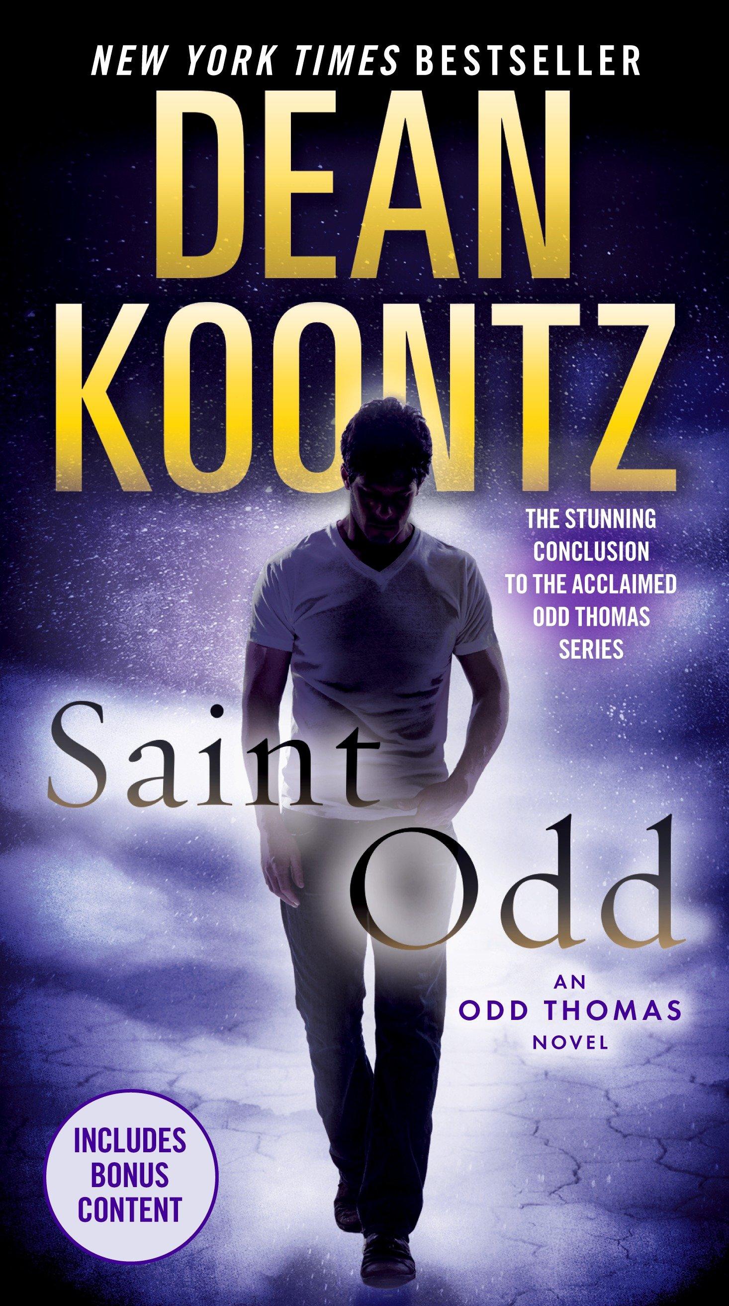Saint Odd an Odd Thomas novel cover image