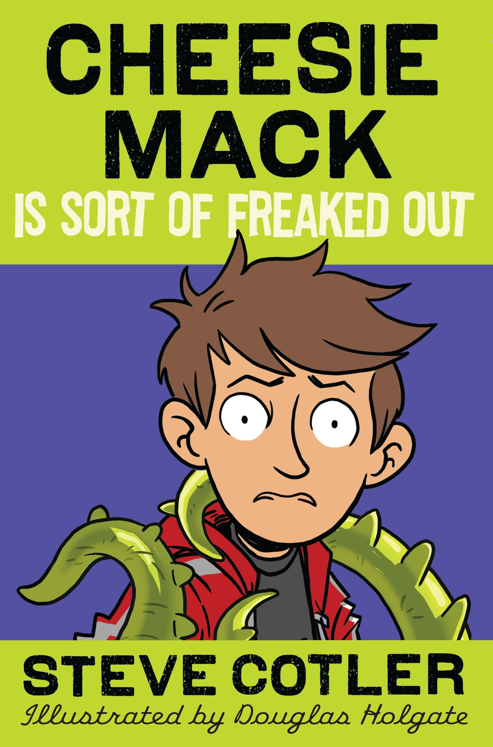 Cheesie Mack is sort of freaked out cover image