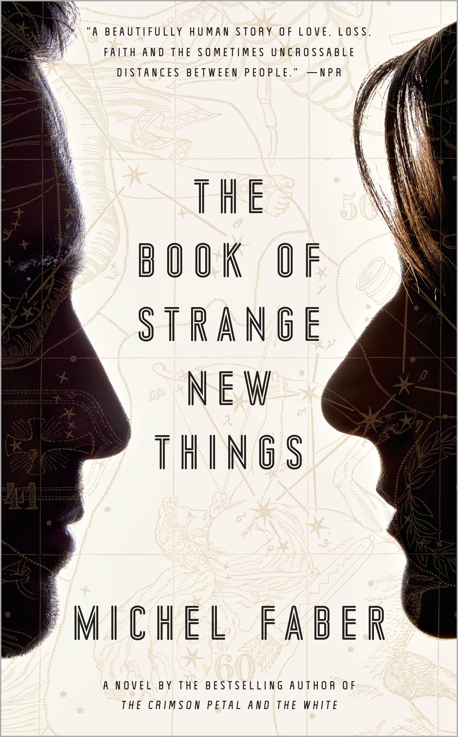 The book of strange new things cover image