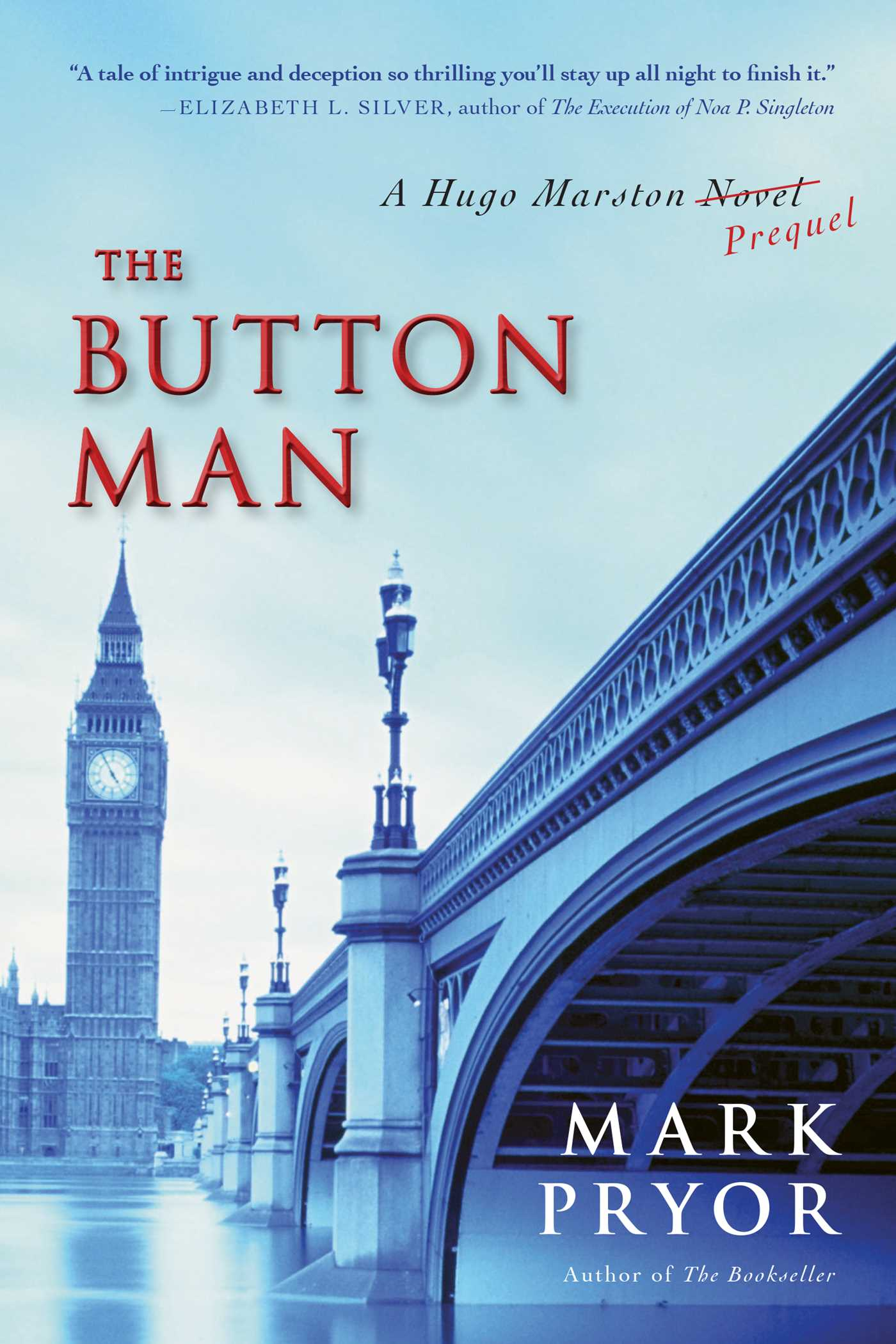 The Button Man A Hugo Marston Novel