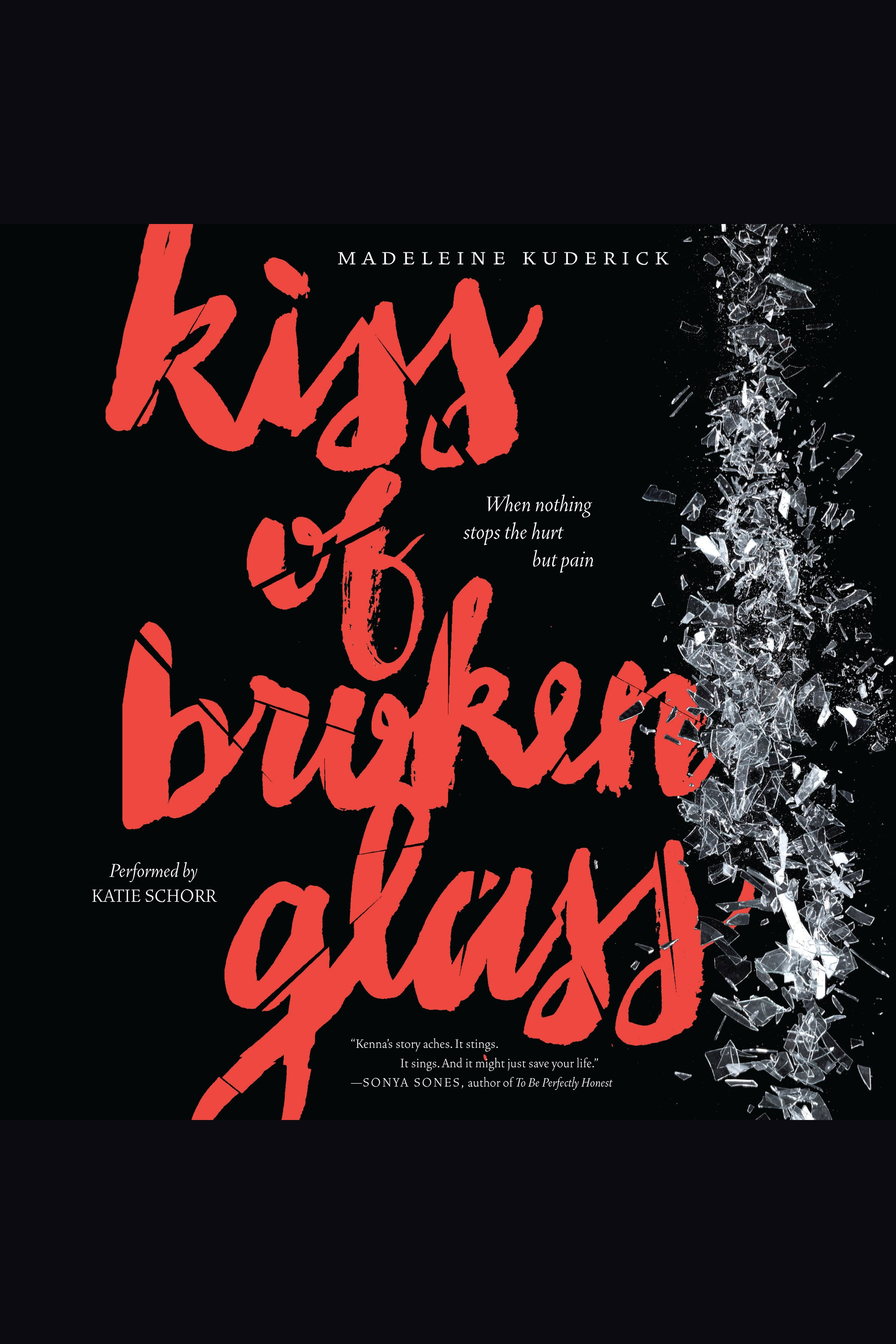 Kiss of broken glass cover image