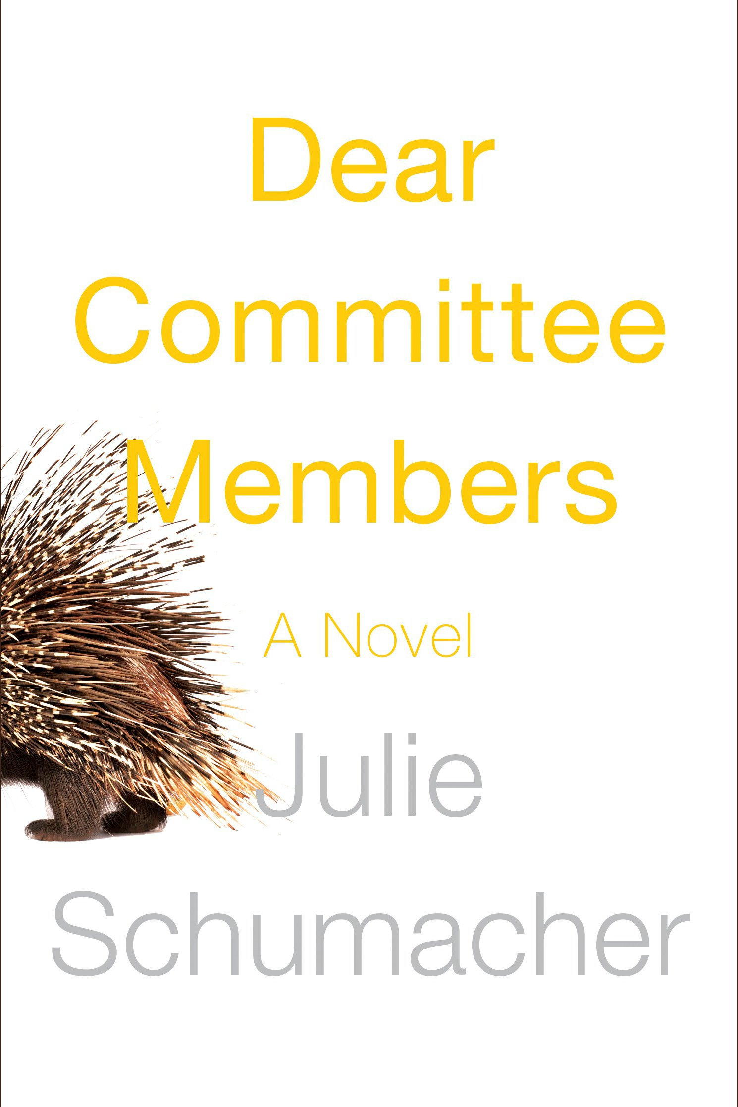 Dear committee members cover image