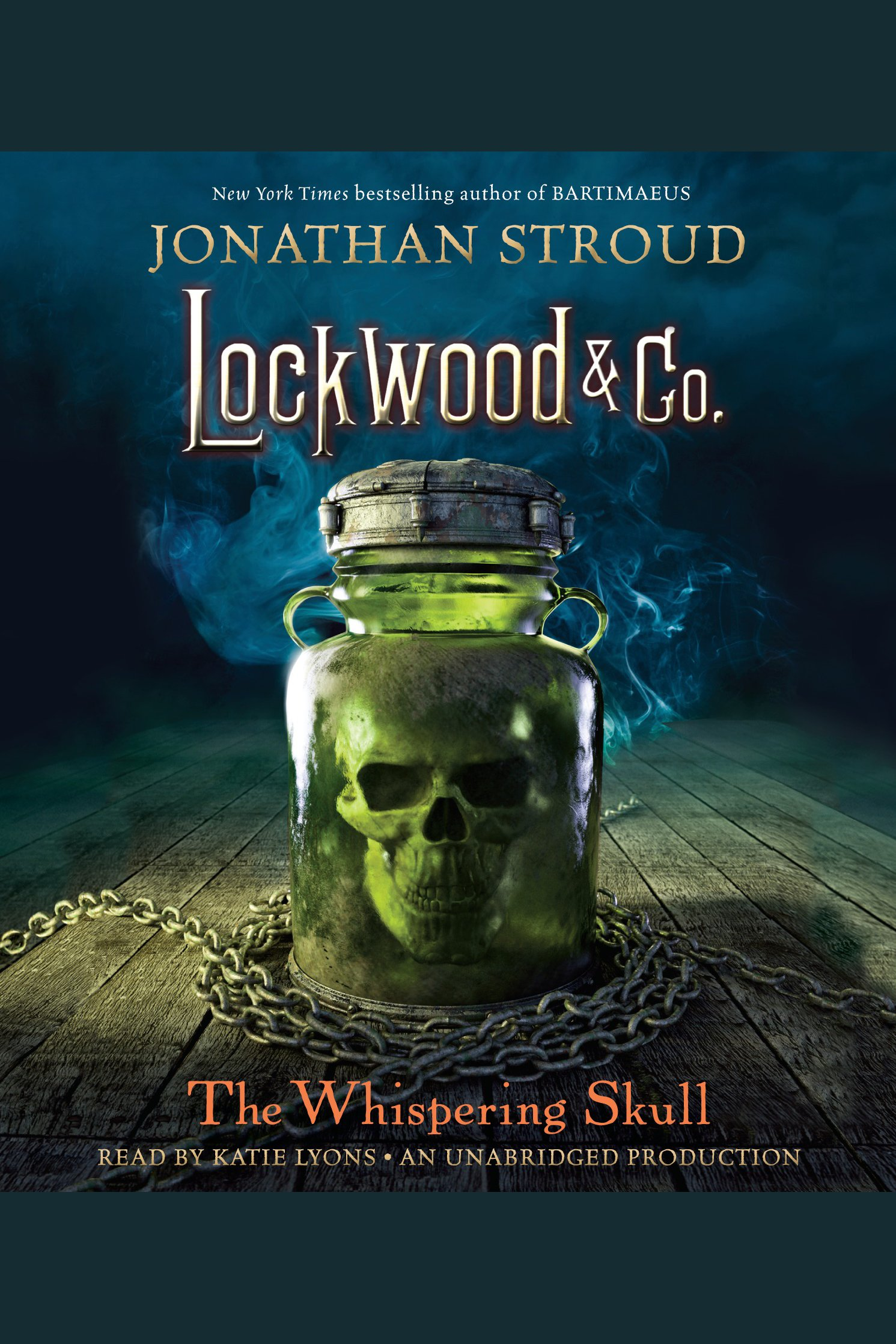 The whispering skull cover image