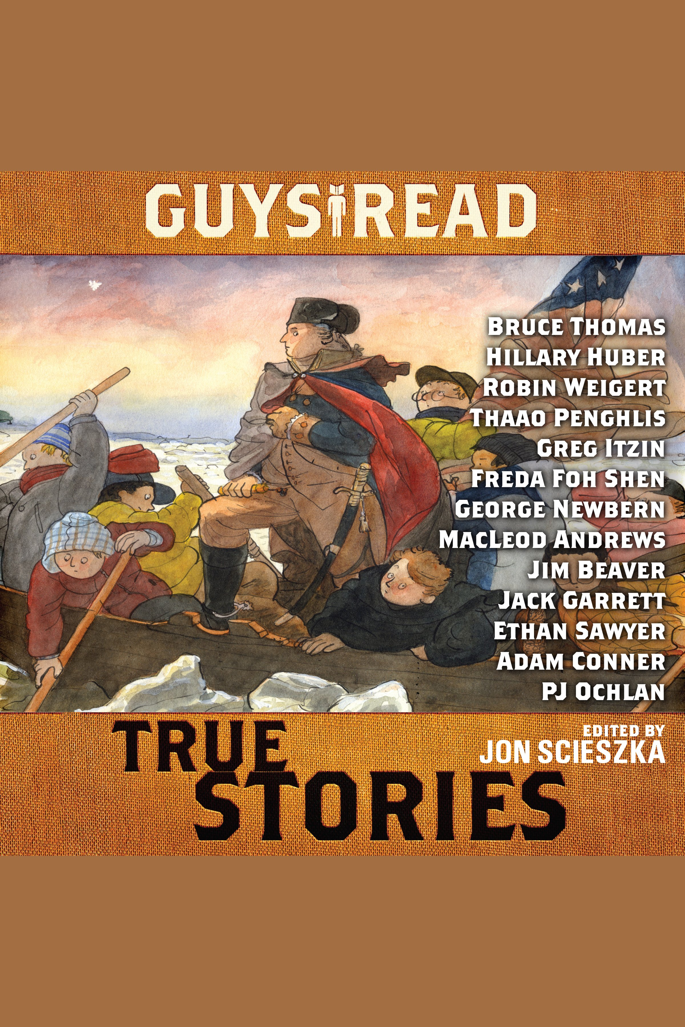 Guys read true stories cover image