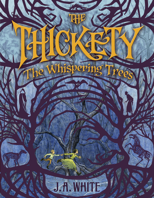 The thickety the whispering trees cover image