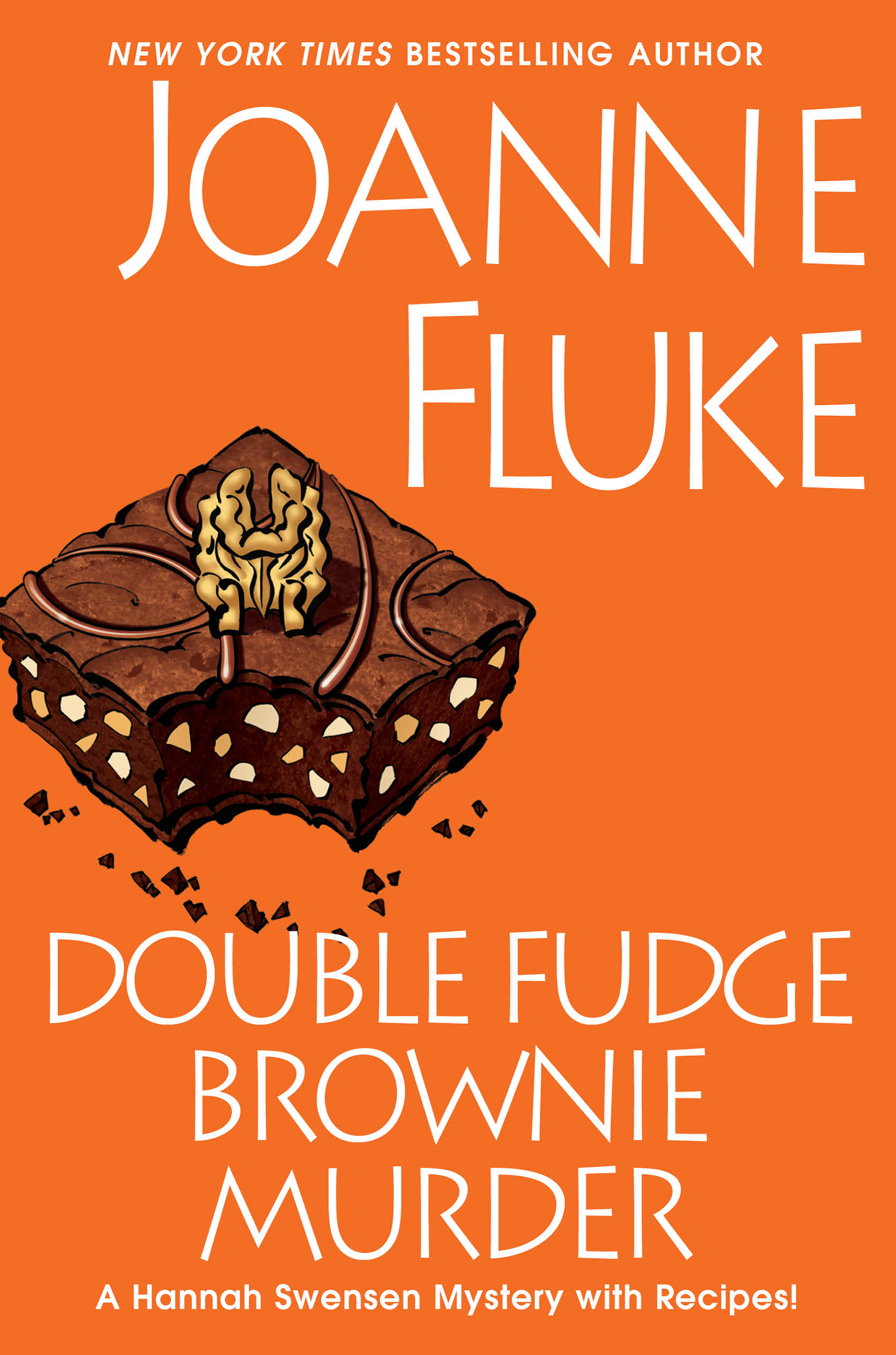 Double fudge brownie murder cover image