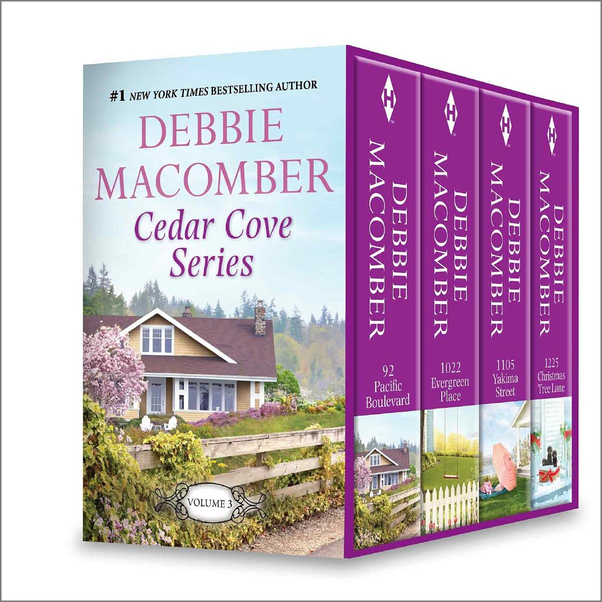 Debbie Macomber's Cedar Cove Vol 3 92 Pacific Boulevard\1022 Evergreen Place\1105 Yakima Street\1225 Christmas Tree Lane