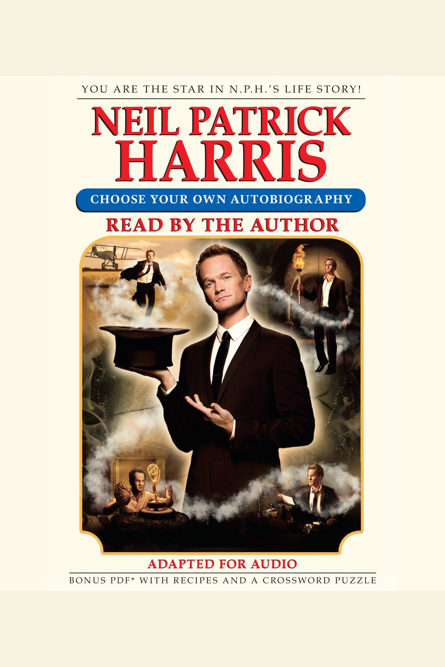 Neil Patrick Harris choose your own autobiography cover image